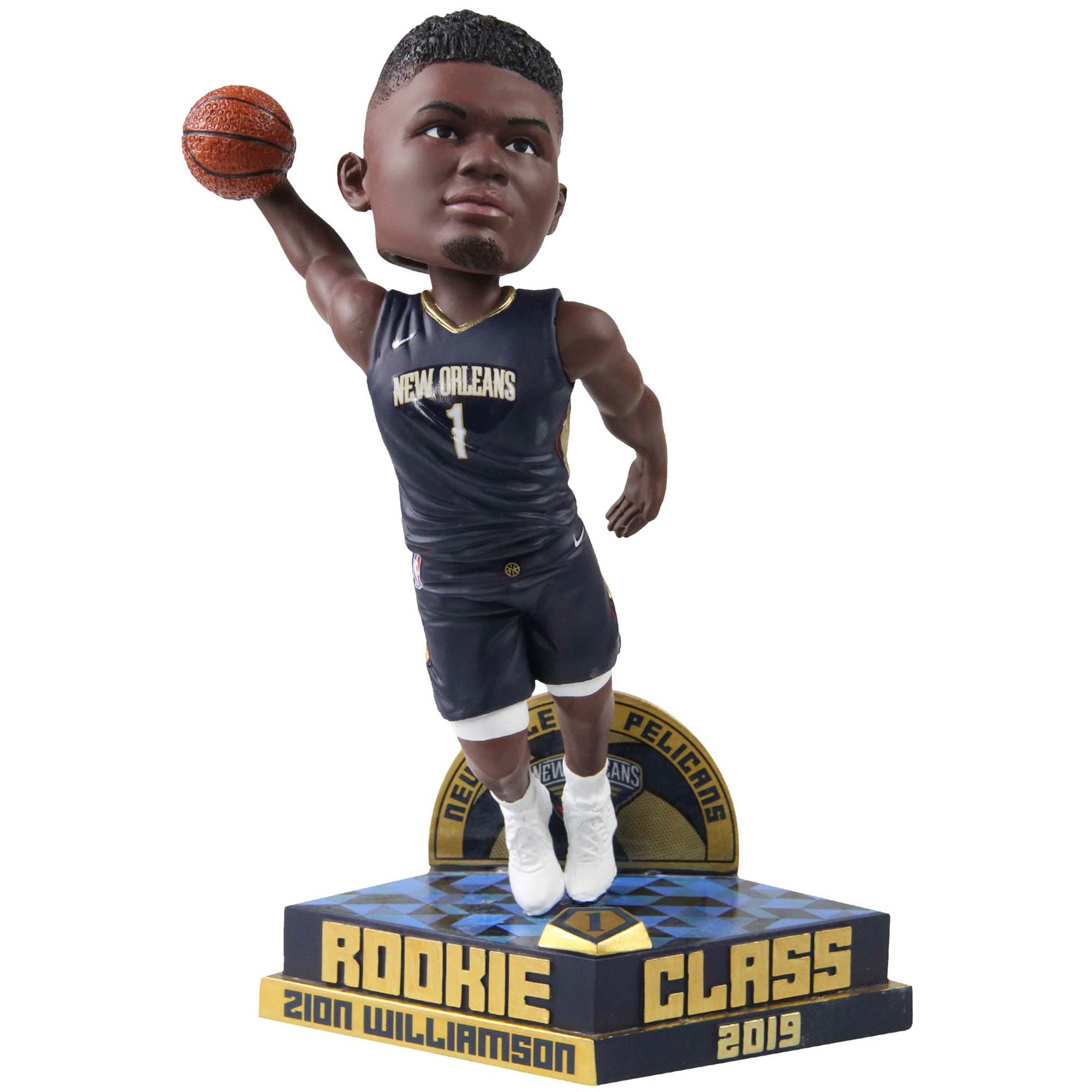 Zion Williamson New Orleans Pelicans Rookie Class Collection Bobblehead