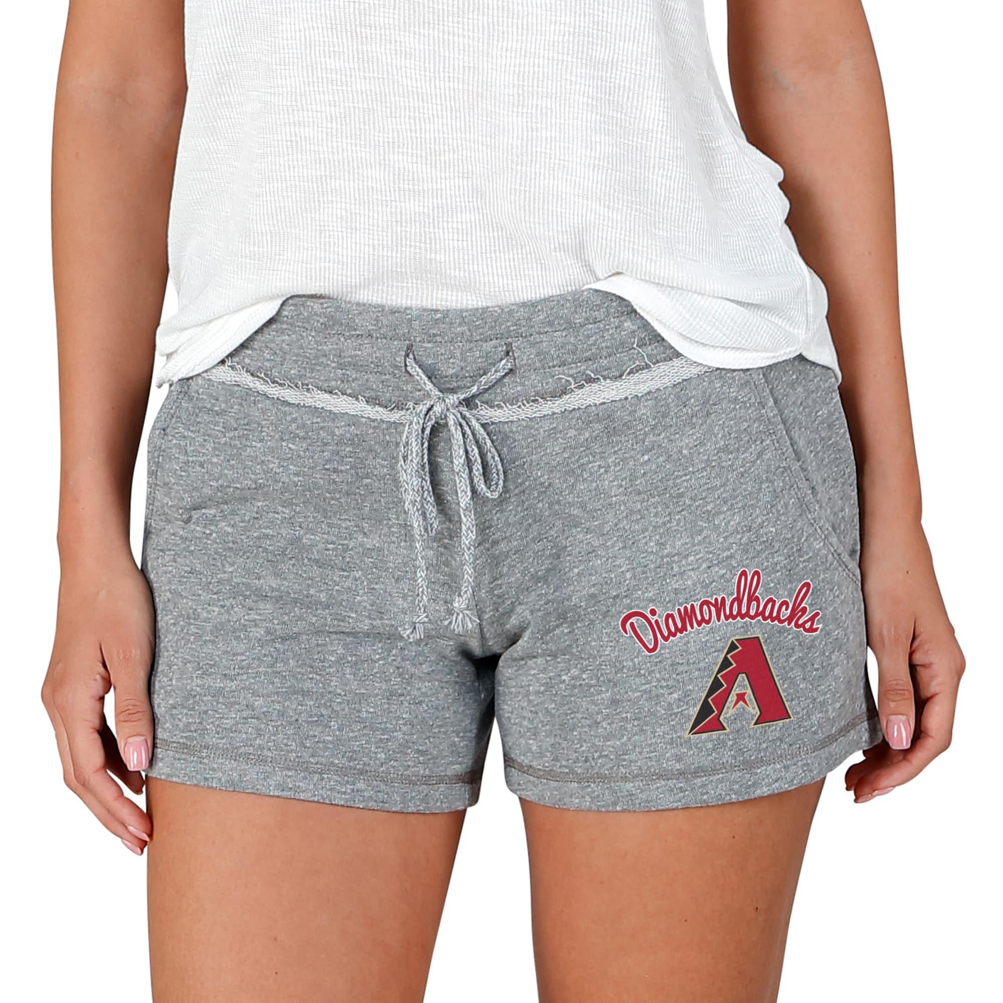Arizona Diamondbacks Concepts Sport Women's Mainstream Terry Shorts - Gray