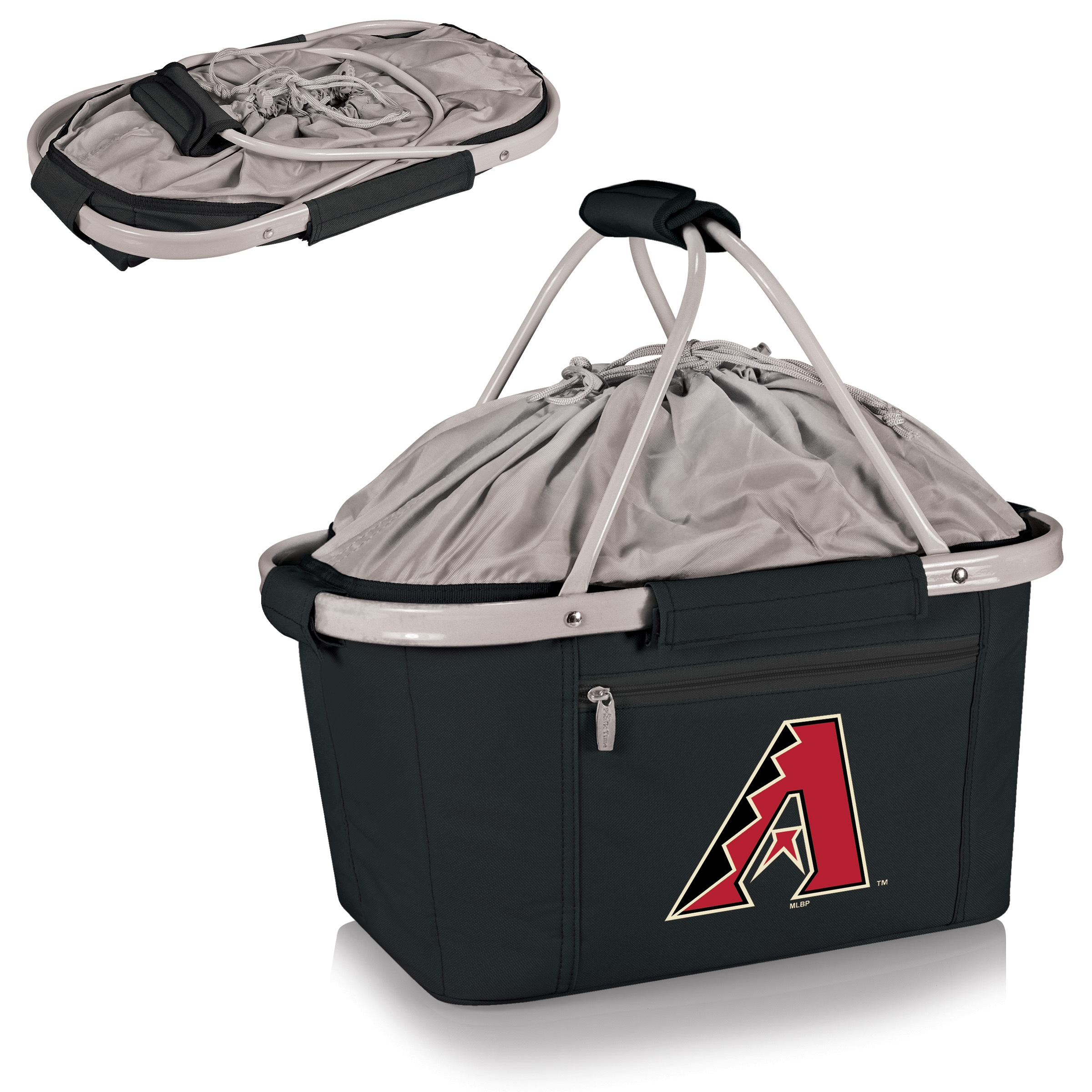 Arizona Diamondbacks Metro Basket Collapsible Tote - Black