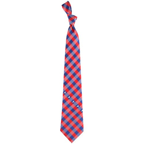 Atlanta Braves Woven Checkered Tie