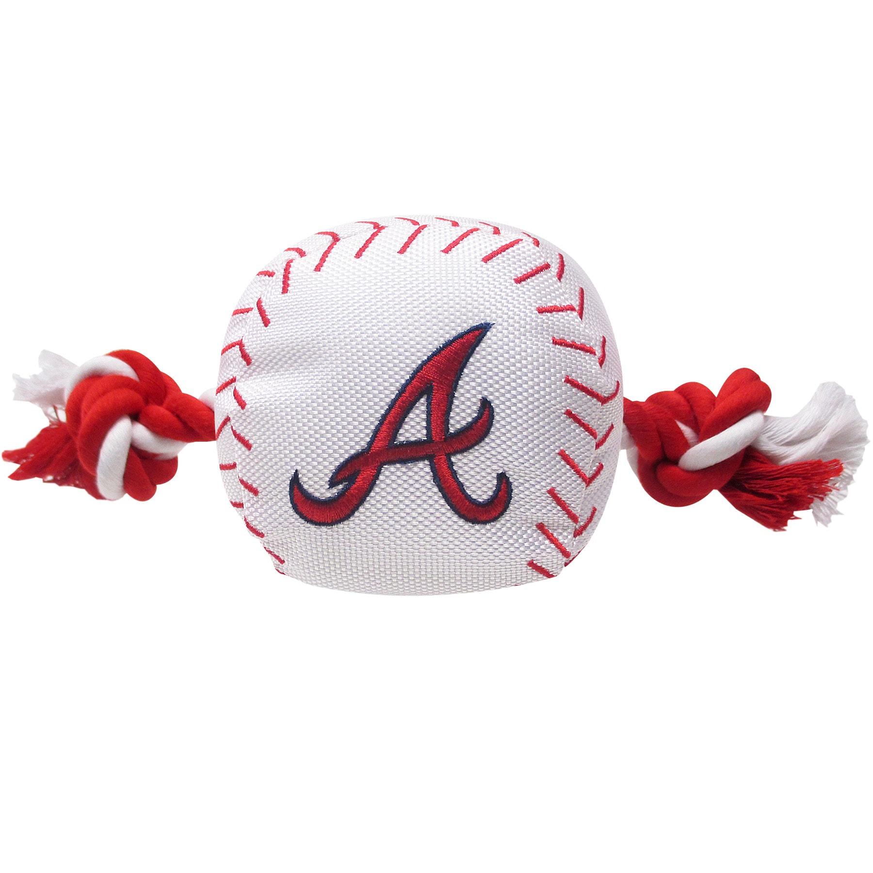Atlanta Braves Dog Baseball Rope Toy