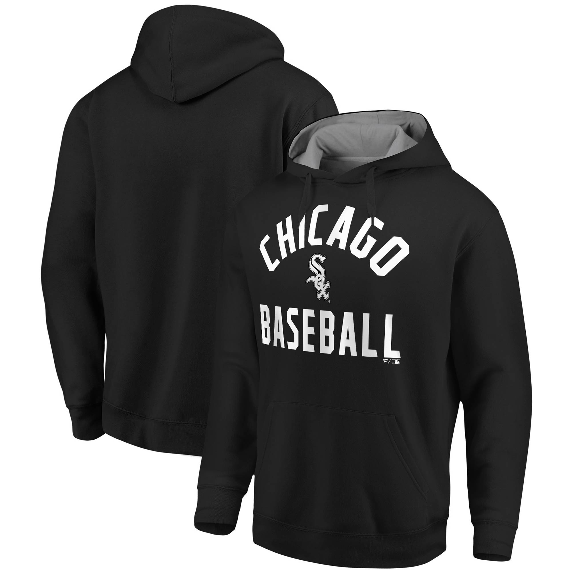 Chicago White Sox Fanatics Branded Big & Tall Team Pride Pullover Hoodie - Black