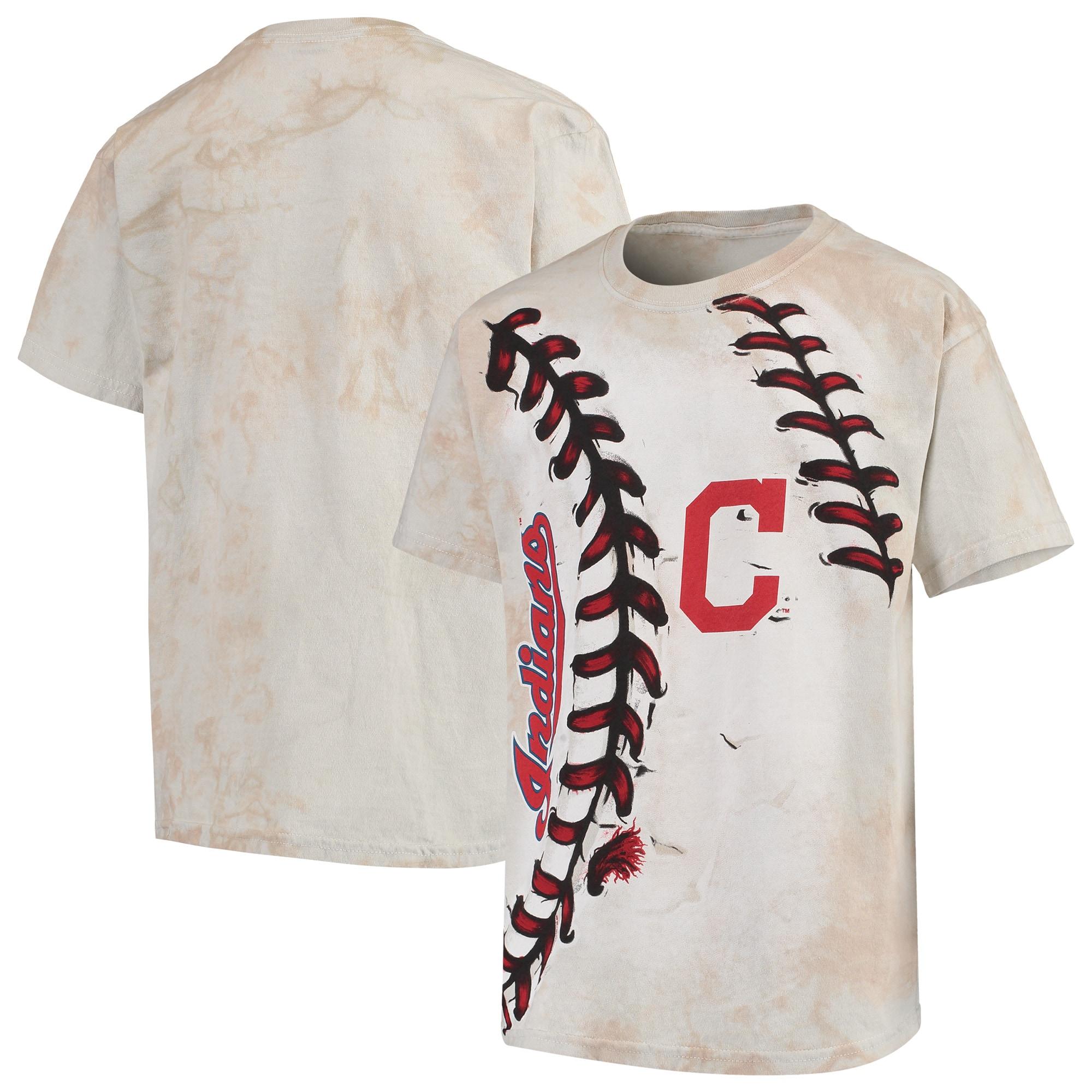Cleveland Indians Youth Hardball T-Shirt - Cream