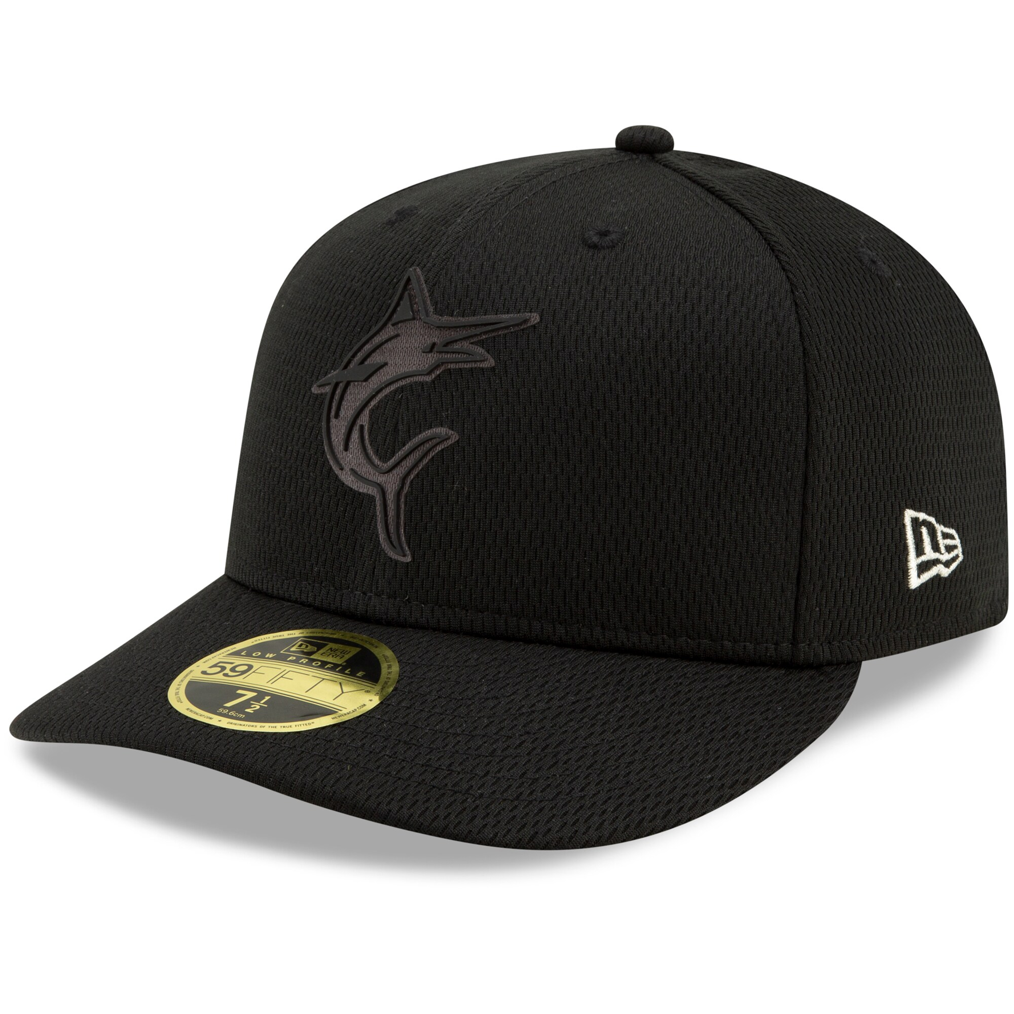 Miami Marlins New Era 2019 Players' Weekend On-Field Low Profile 59FIFTY Fitted Hat - Black