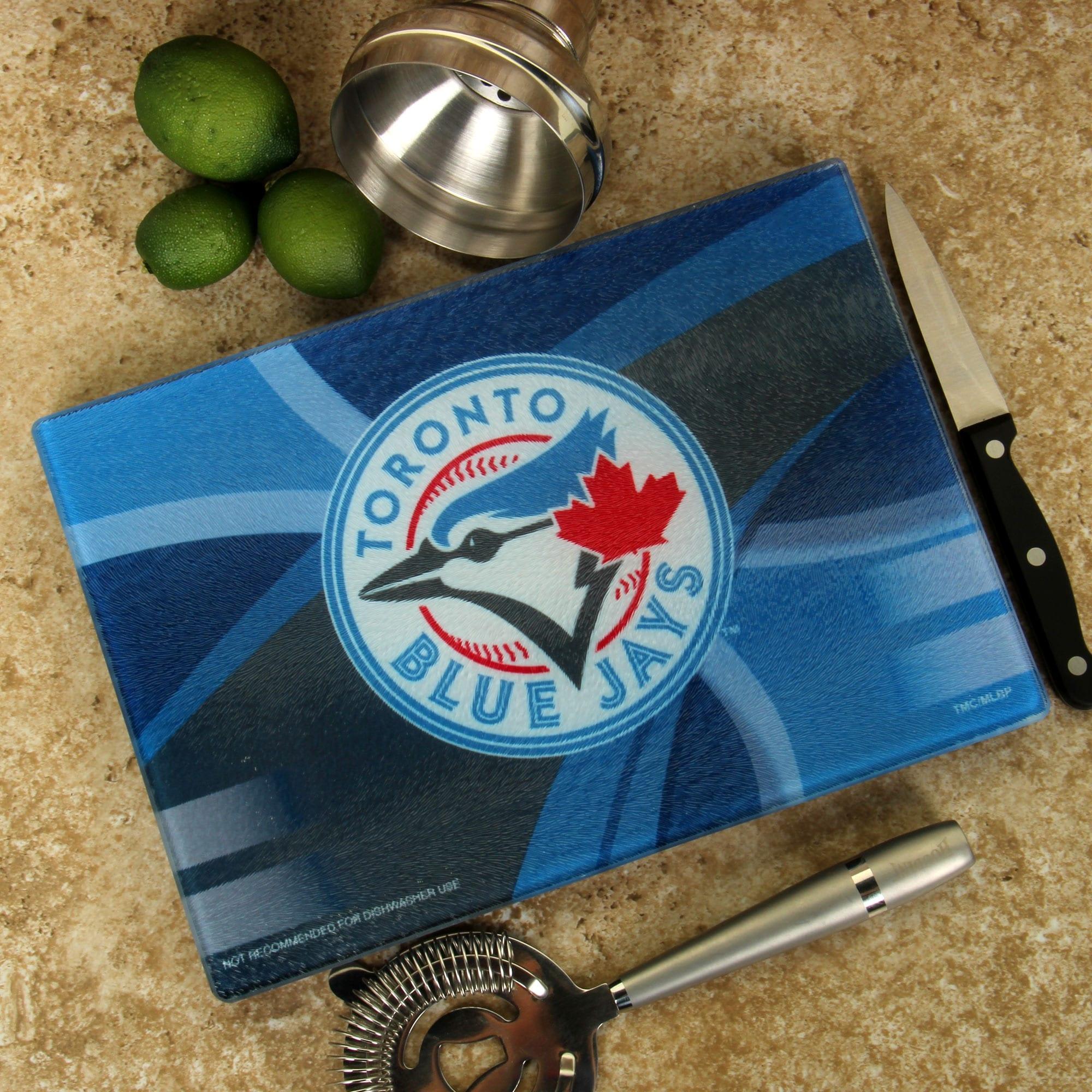 Toronto Blue Jays 8'' x 11.75'' Carbon Fiber Cutting Board
