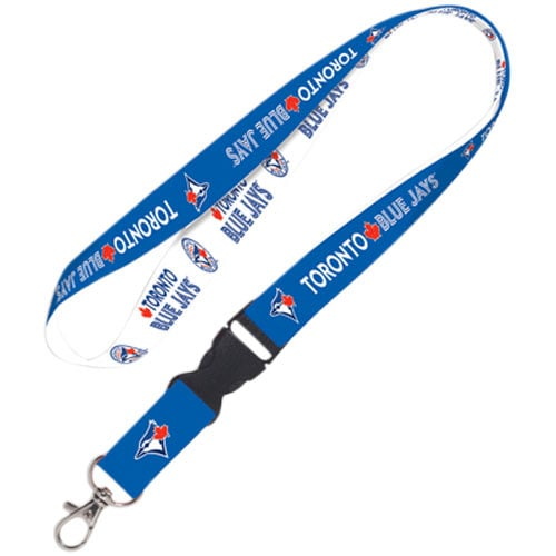 Toronto Blue Jays WinCraft Lanyard with Detachable Buckle