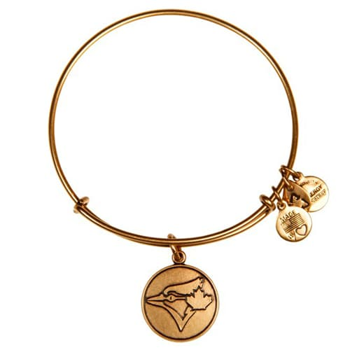 Toronto Blue Jays Alex and Ani Women's Bracelet - Gold