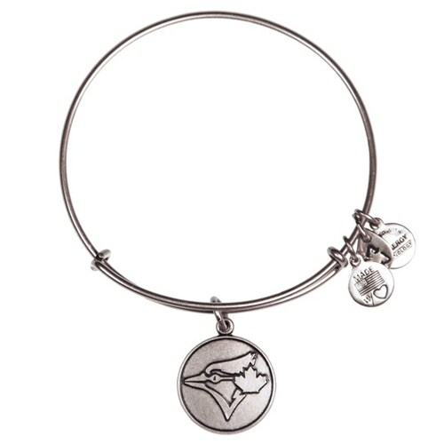 Toronto Blue Jays Alex and Ani Women's Bracelet - Silver