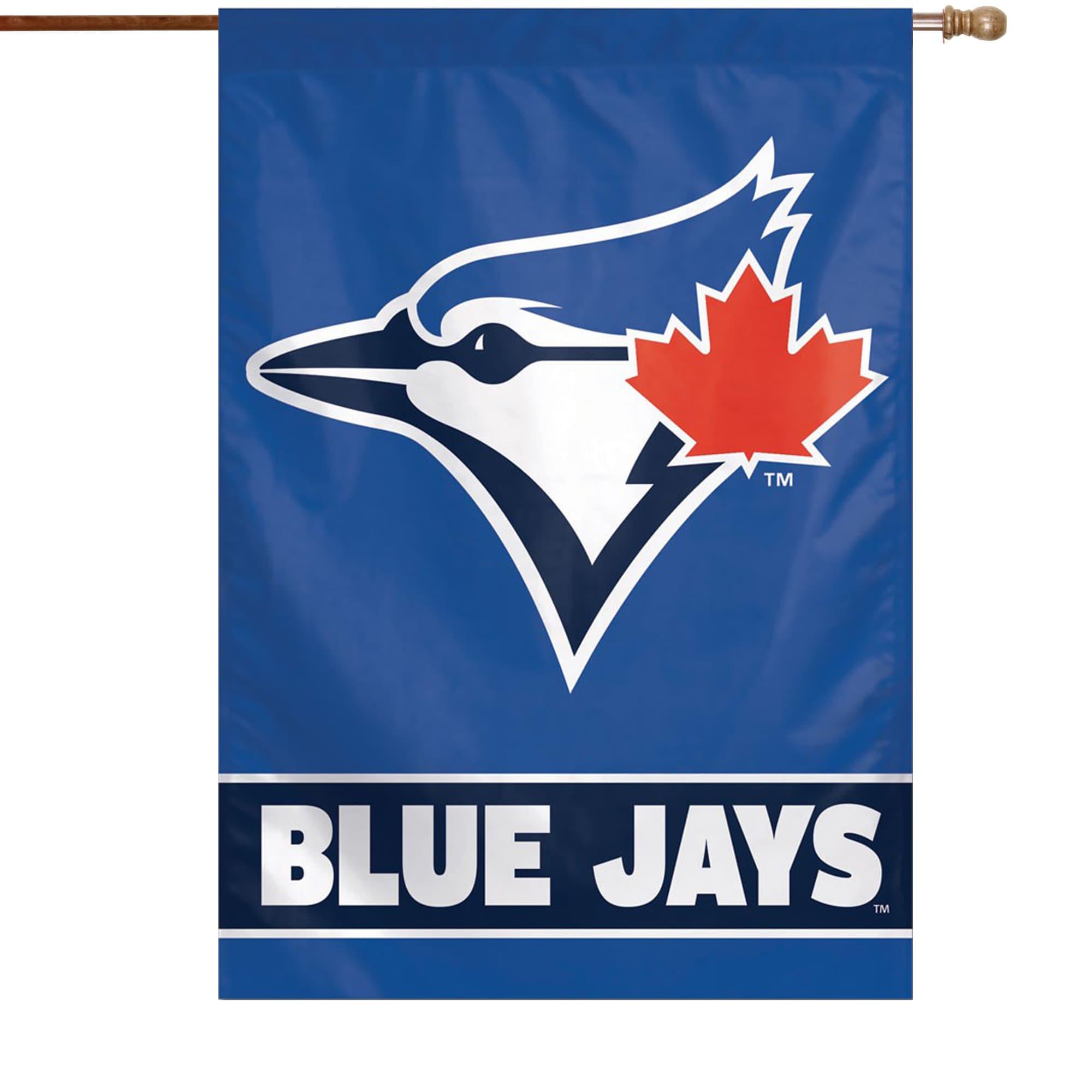 "Toronto Blue Jays WinCraft 28"" x 40"" Wordmark Single-Sided Vertical Banner"