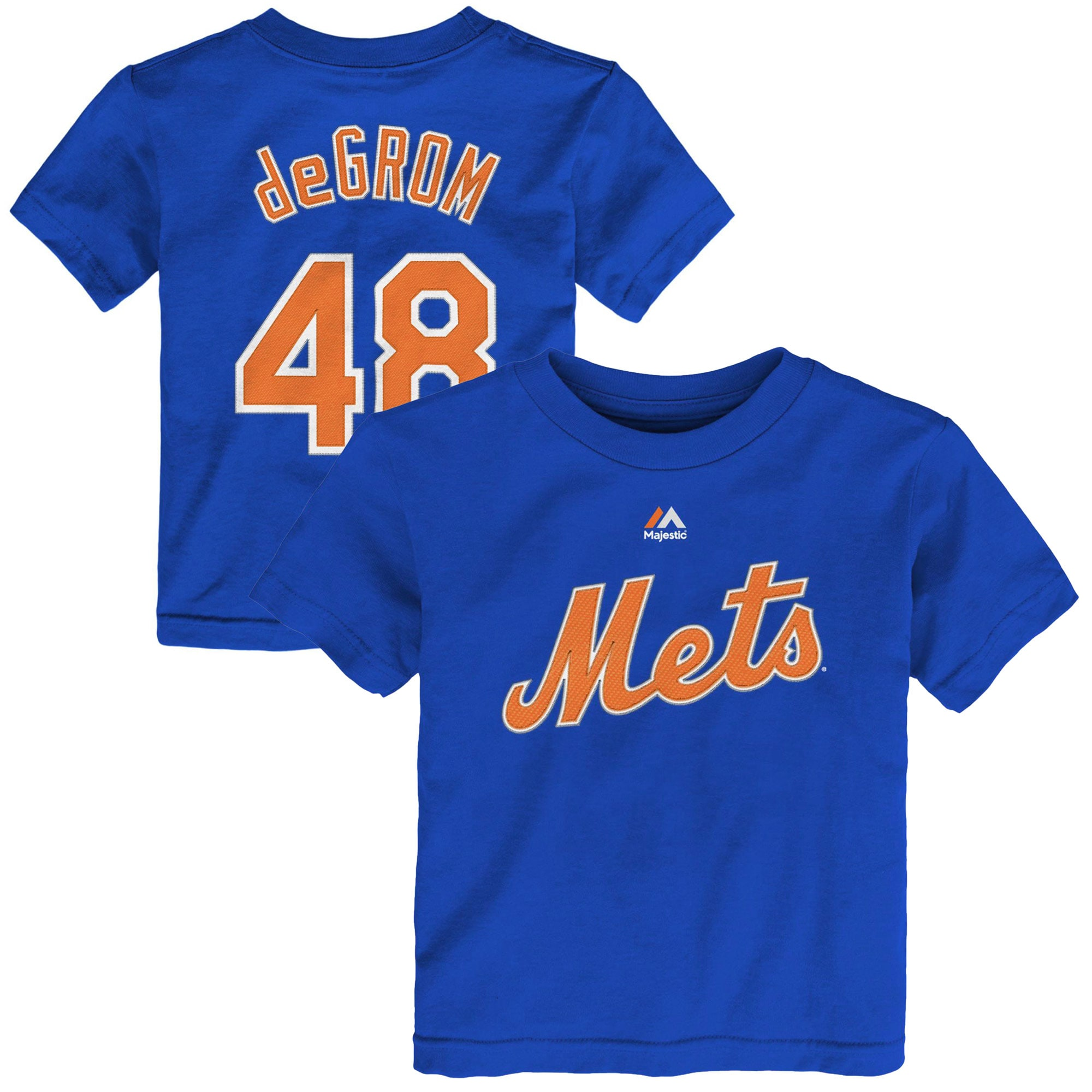 Jacob deGrom New York Mets Toddler Name & Number T-Shirt - Royal