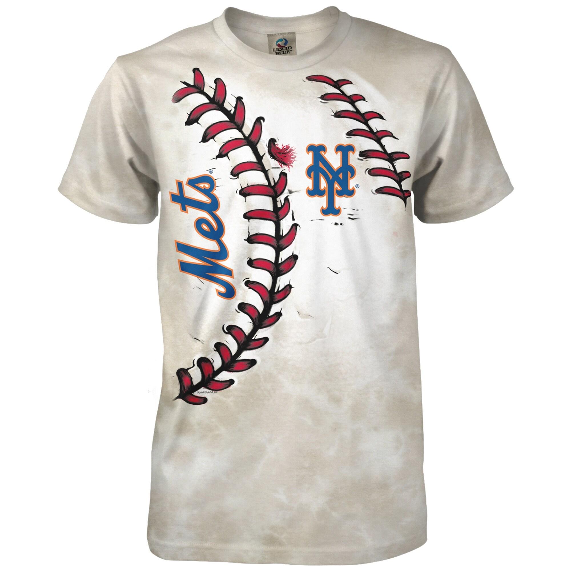 New York Mets Youth Hardball T-Shirt - Cream