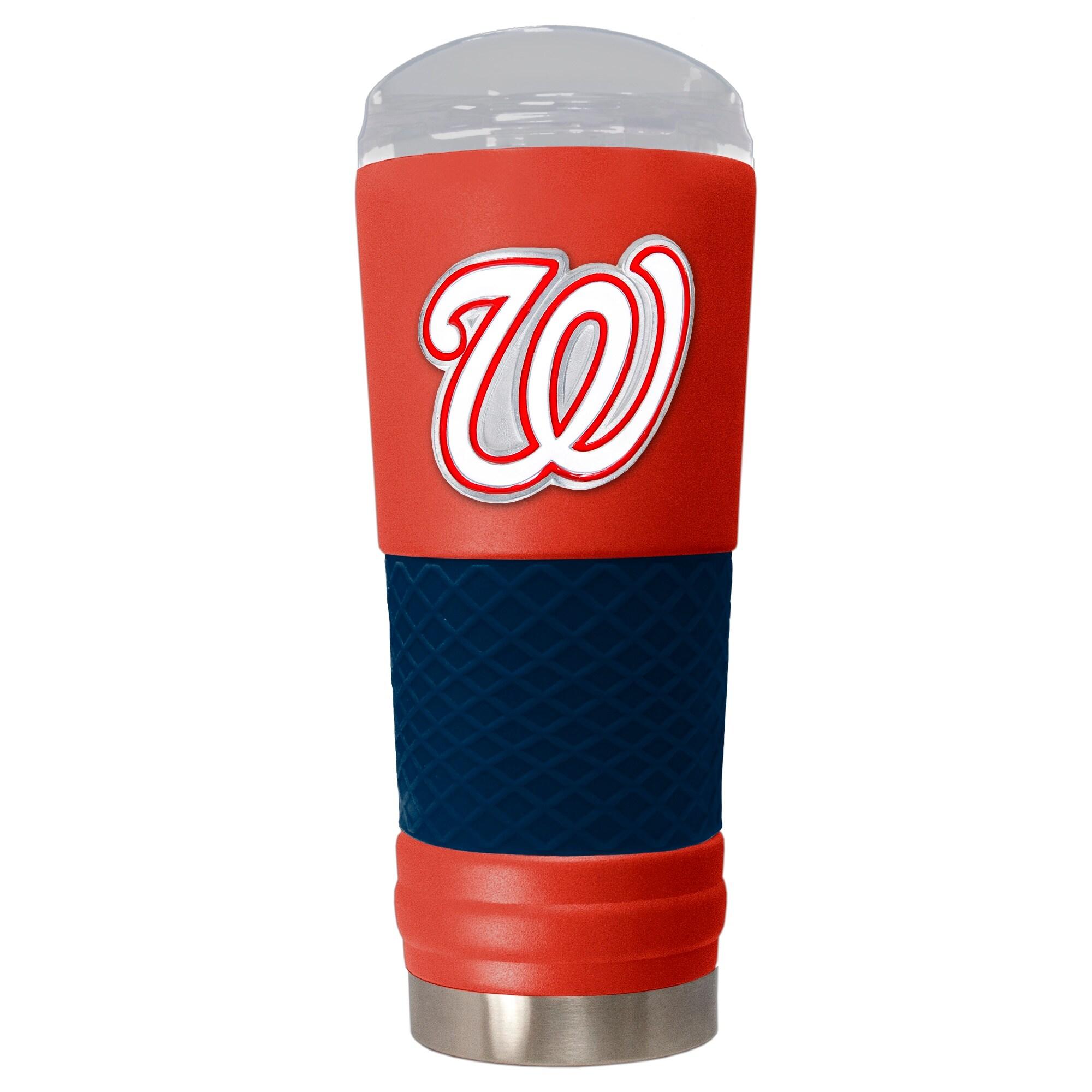 Washington Nationals 24oz. Powder Coated Draft Travel Mug - Red