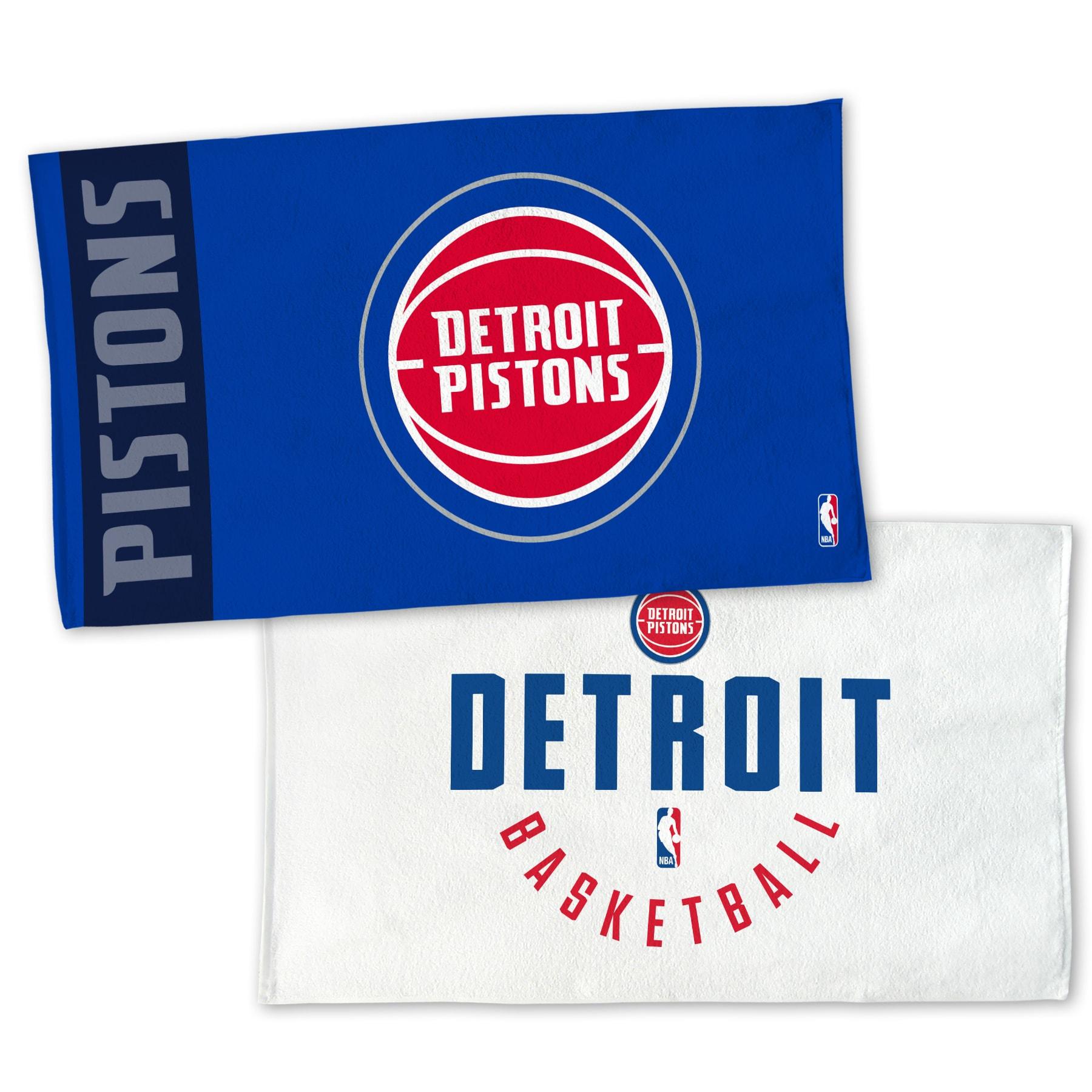 "Detroit Pistons WinCraft 22"" x 42"" Authentic On-Court Towel"