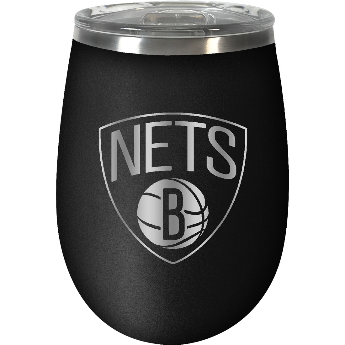 Brooklyn Nets 12oz. Stealth Wine Tumbler