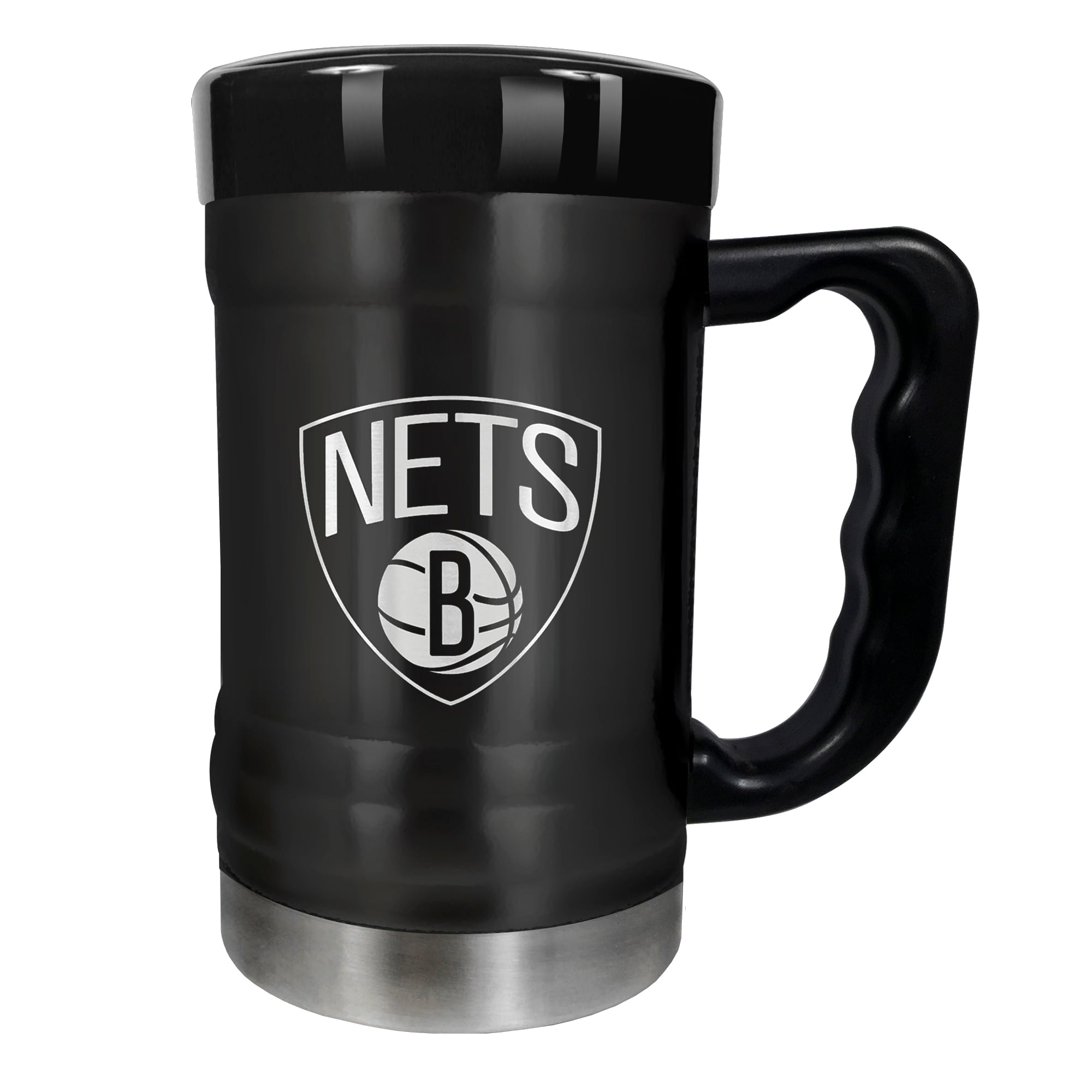 Brooklyn Nets 15oz. Stealth Coach Coffee Mug - Black