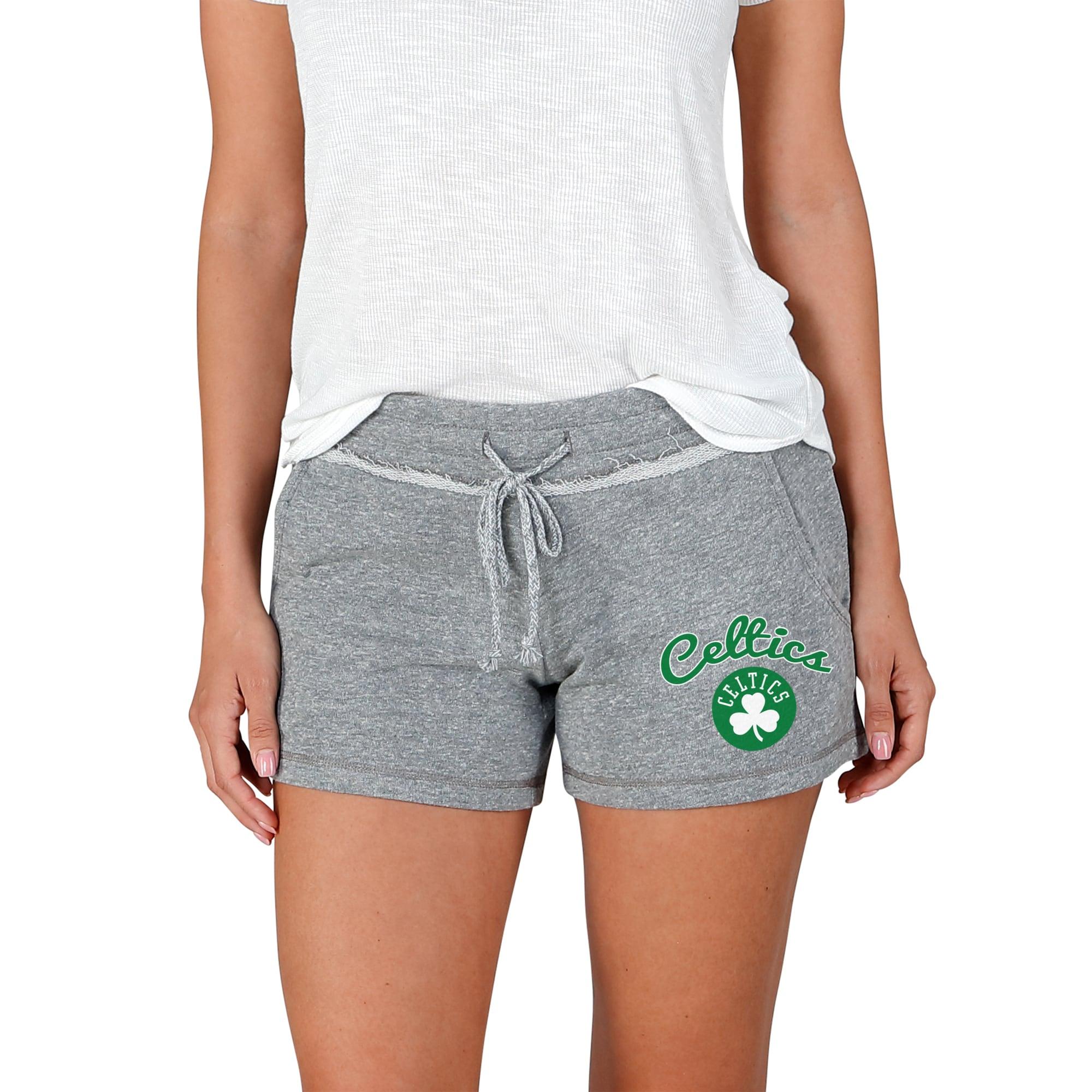 Boston Celtics Concepts Sport Women's Mainstream Terry Shorts - Gray