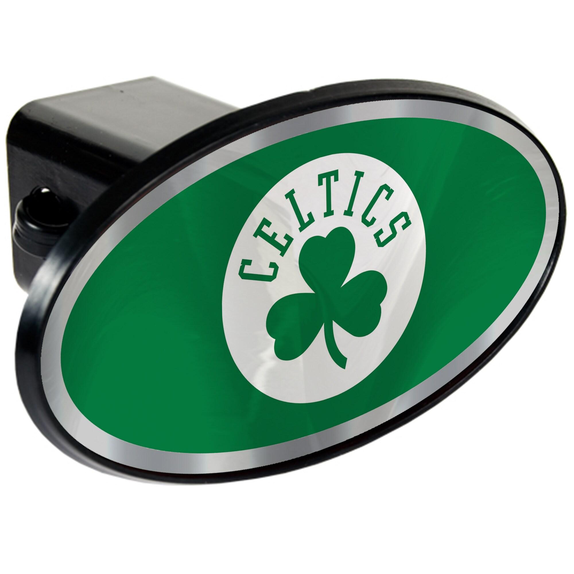 Boston Celtics Oval Car Hitch Cover