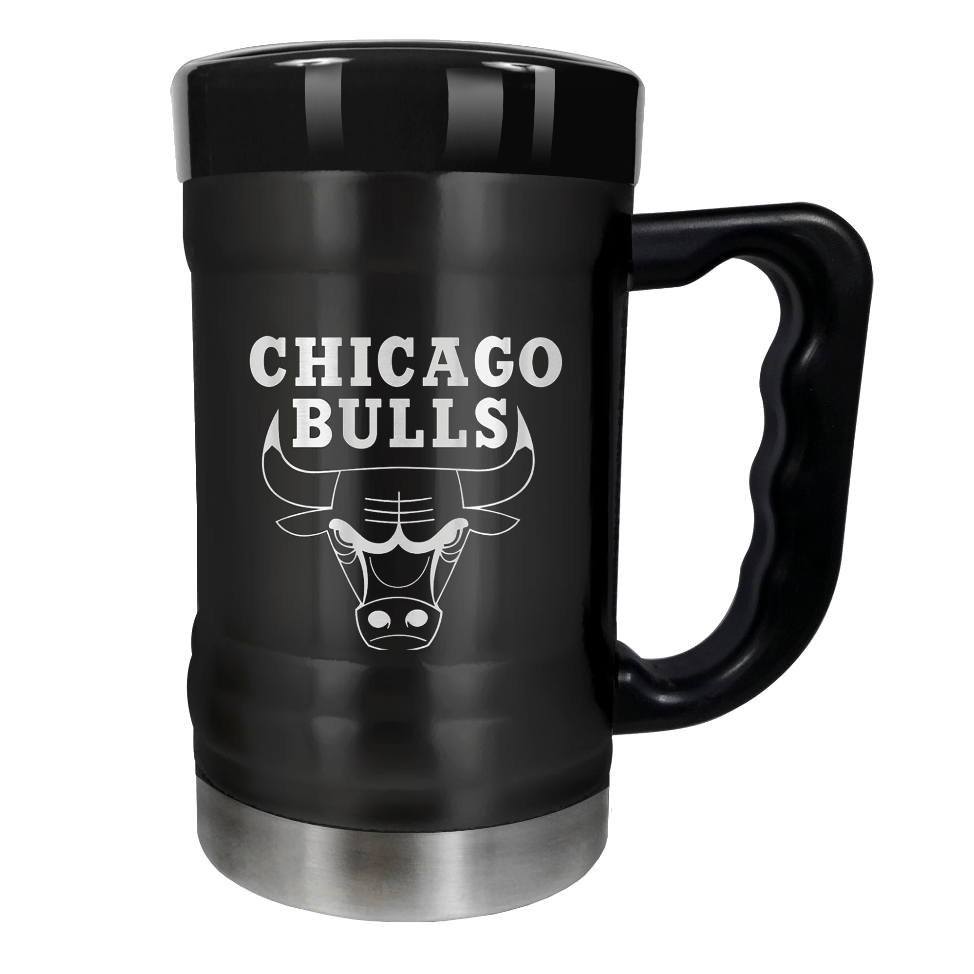 Chicago Bulls 15oz. Stealth Coach Coffee Mug - Black