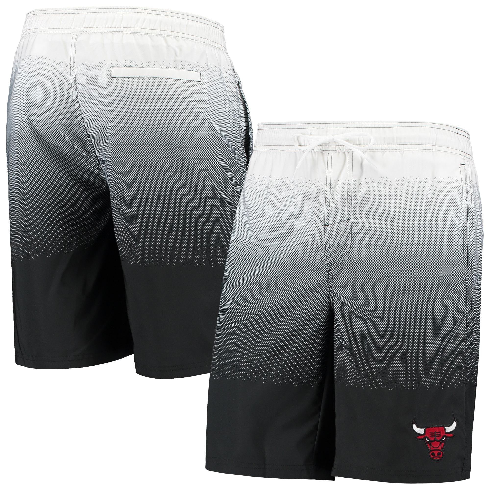 Chicago Bulls G-III Sports by Carl Banks Horizon Swim Trunks - Black