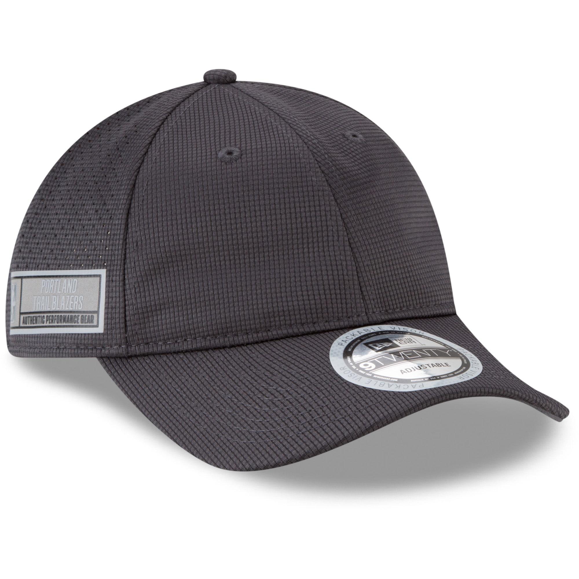 Portland Trail Blazers New Era Authentics Training 9TWENTY Adjustable Hat - Graphite
