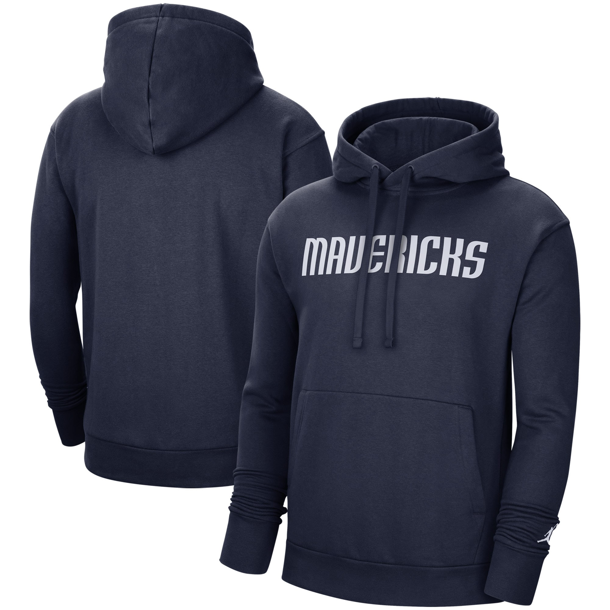 Dallas Mavericks Jordan Brand Statement Edition Pullover Hoodie - Navy