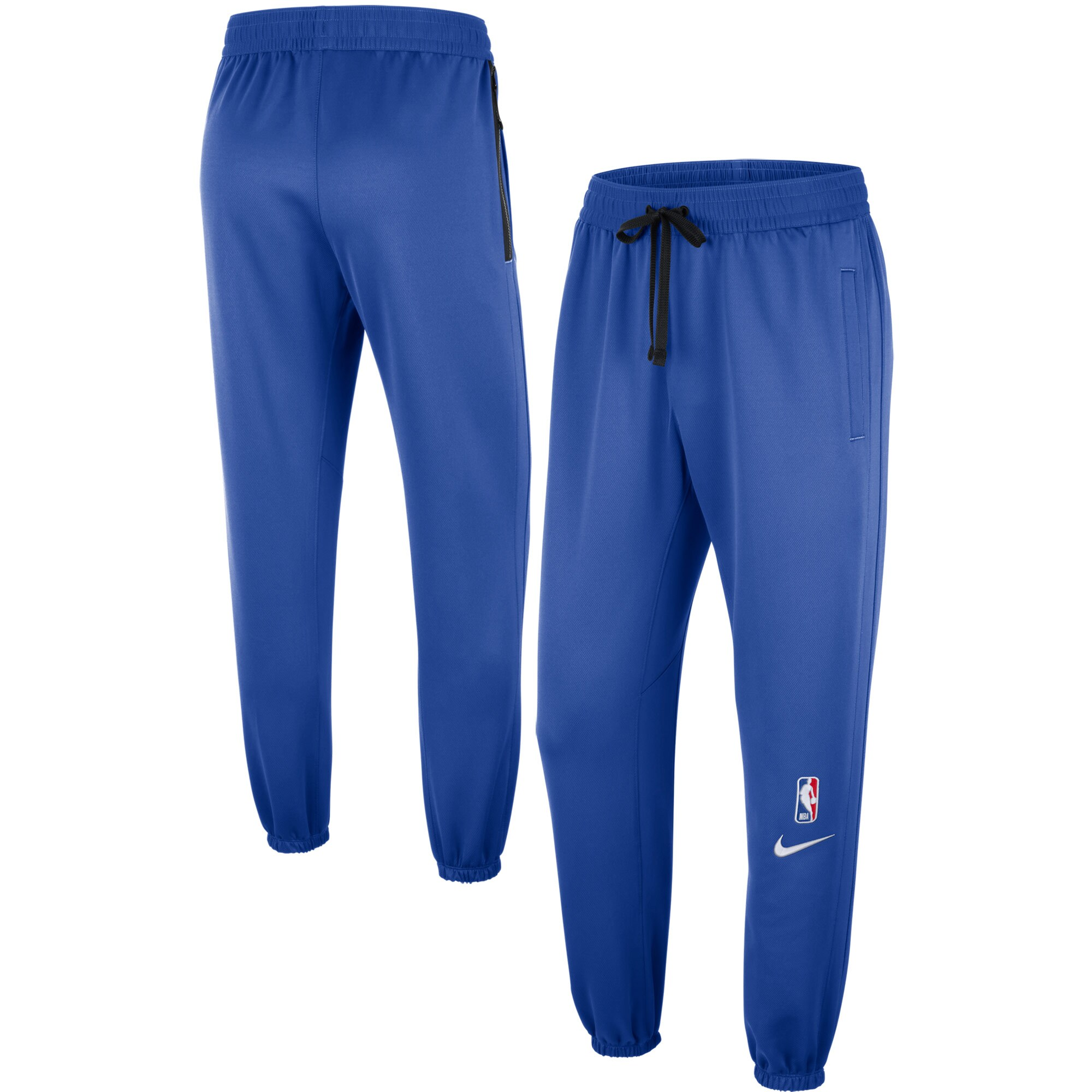Dallas Mavericks Nike Showtime Logo Performance Pants - Blue