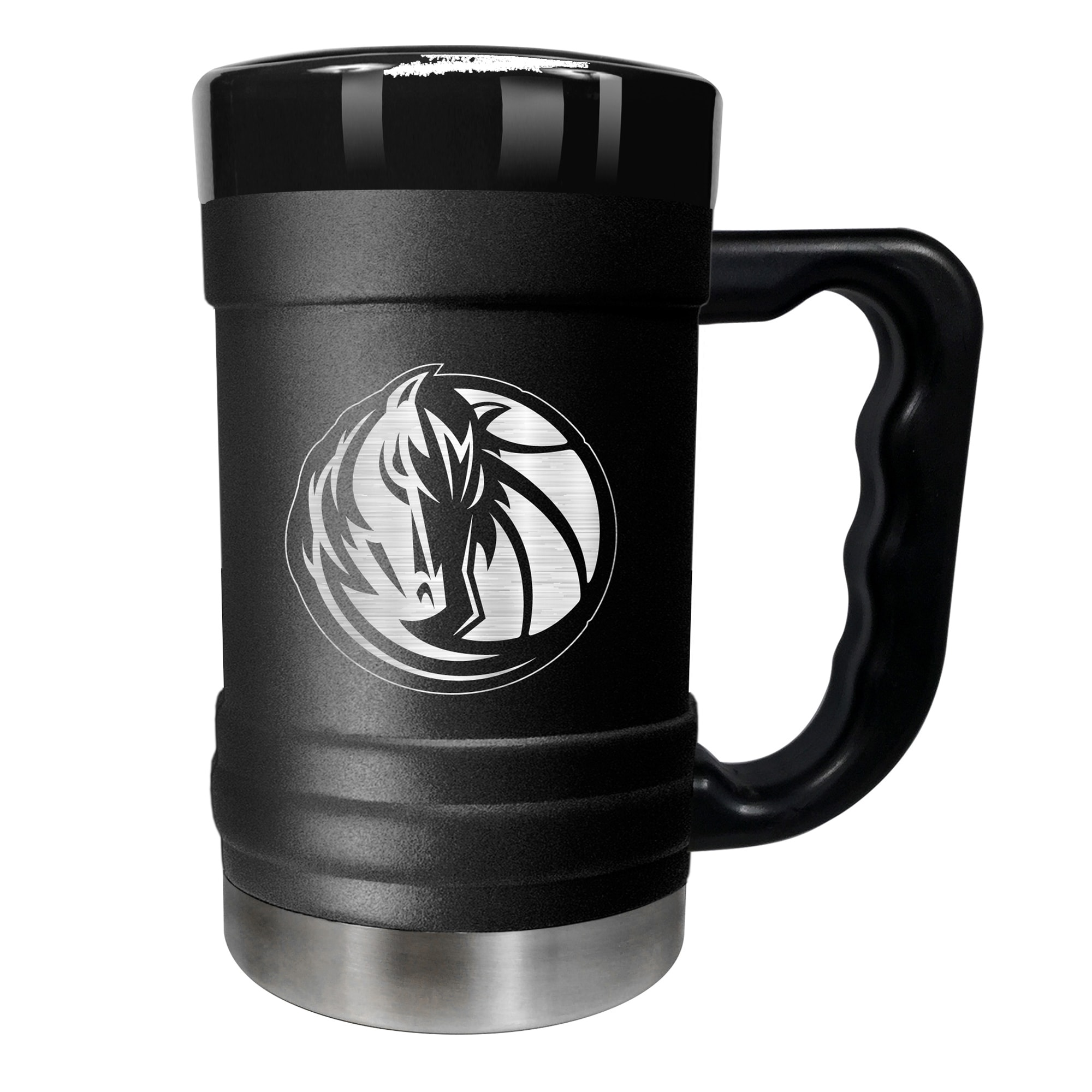Dallas Mavericks 15oz. Stealth Coach Coffee Mug - Black
