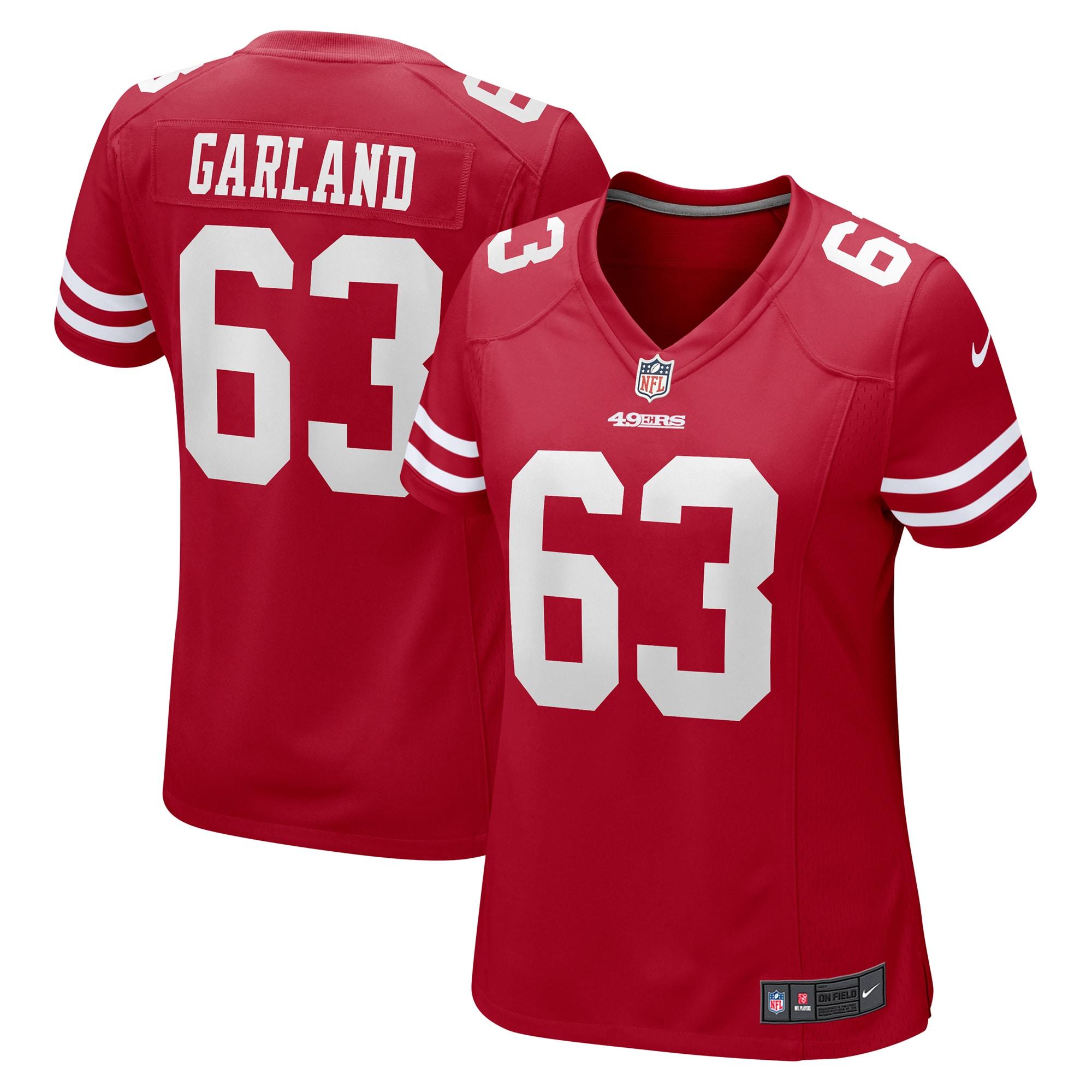 Ben Garland San Francisco 49ers Nike Women's Game Jersey - Scarlet
