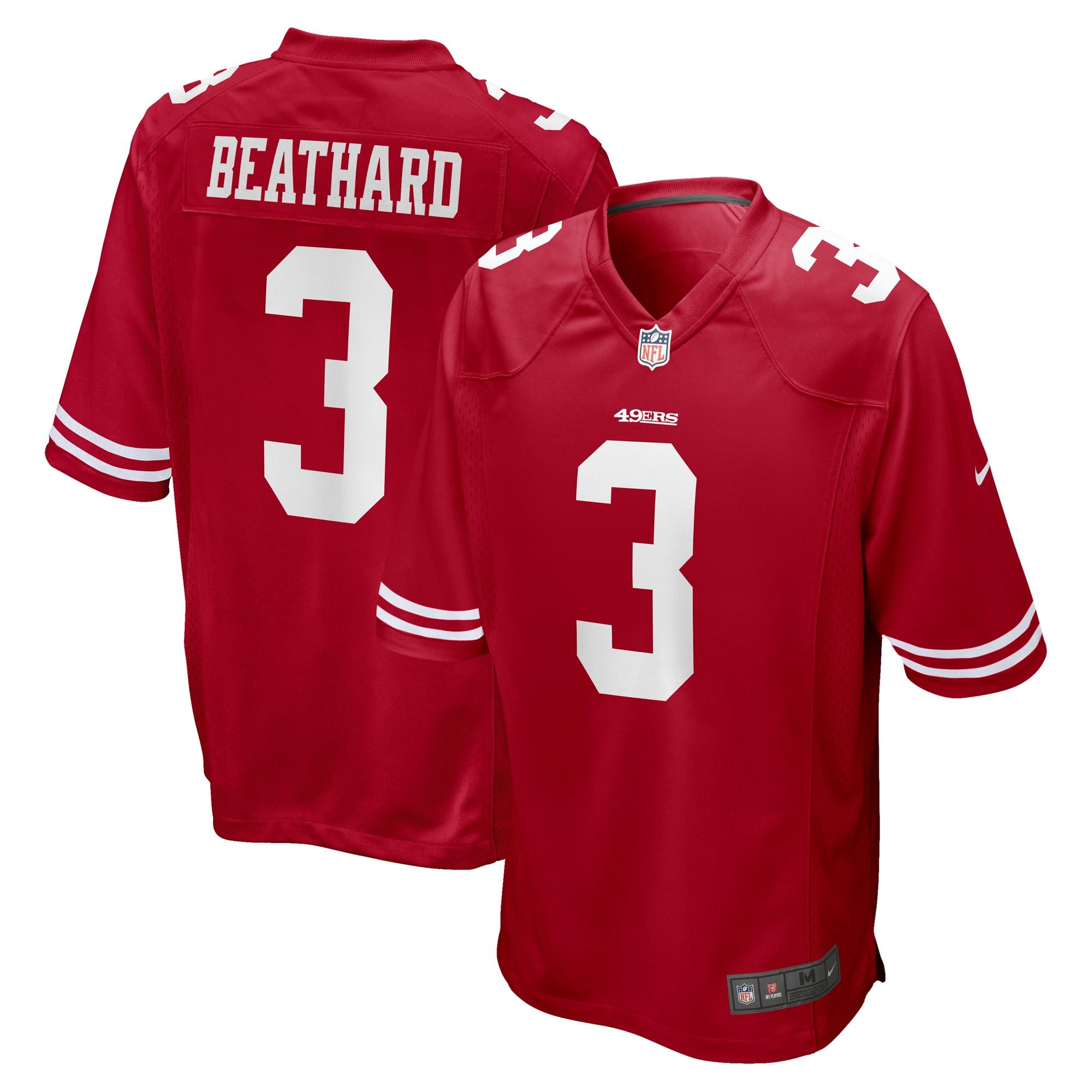 C.J. Beathard San Francisco 49ers Nike Game Jersey - Scarlet