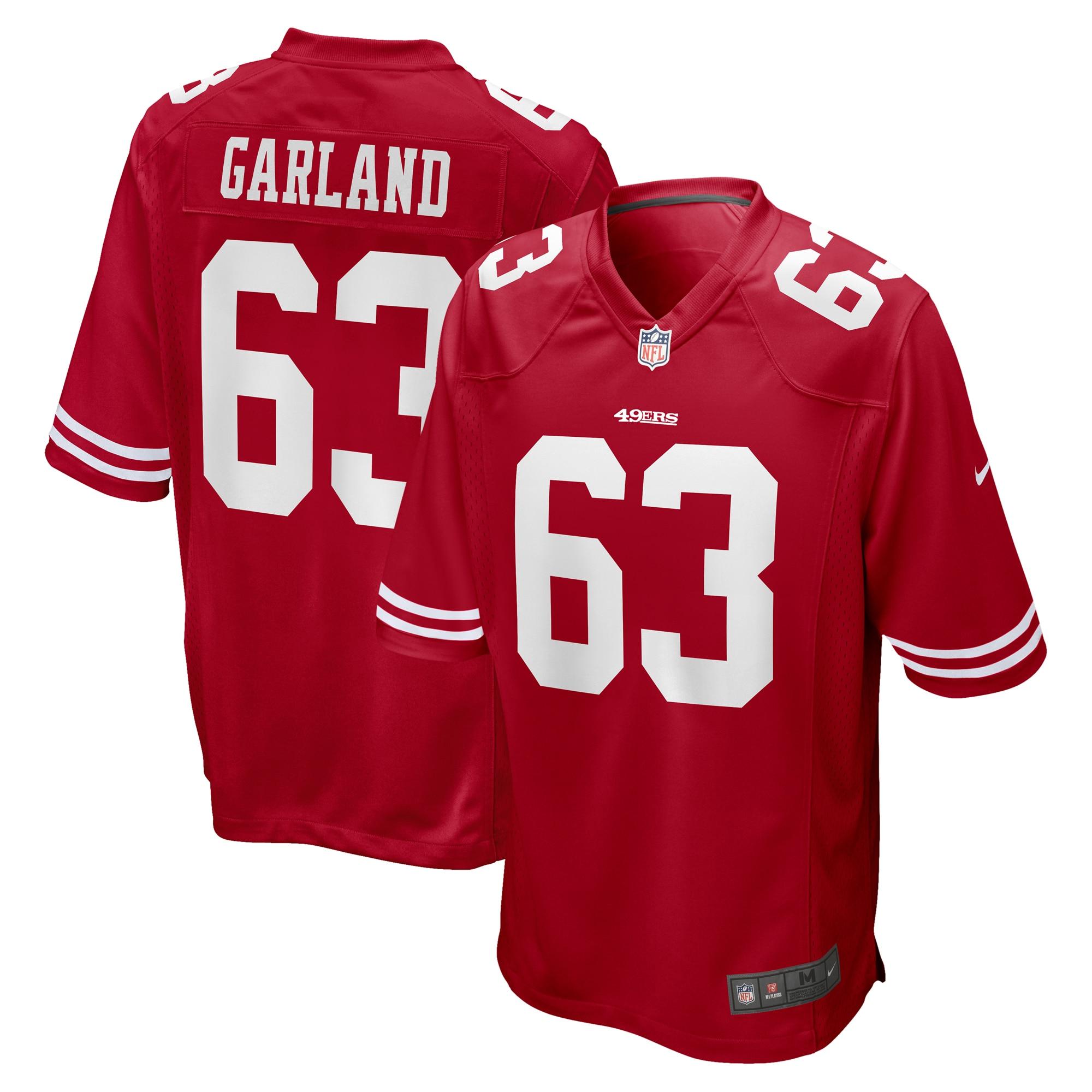 Ben Garland San Francisco 49ers Nike Game Jersey - Scarlet