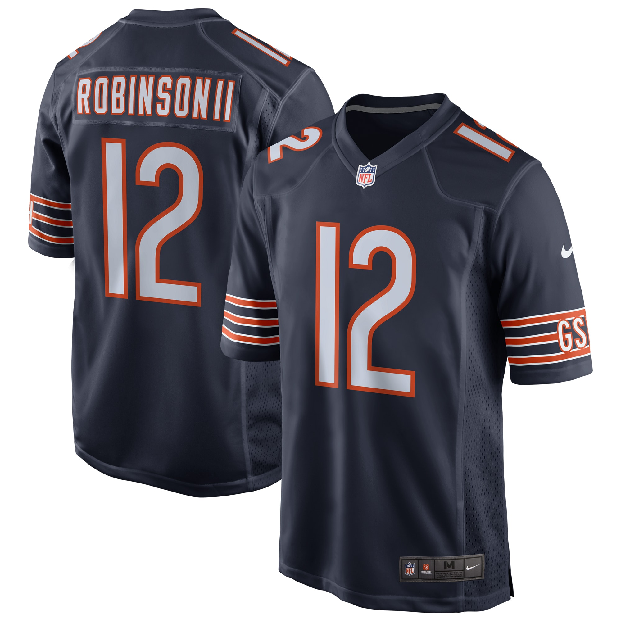 Allen Robinson Chicago Bears Nike Game Jersey - Navy