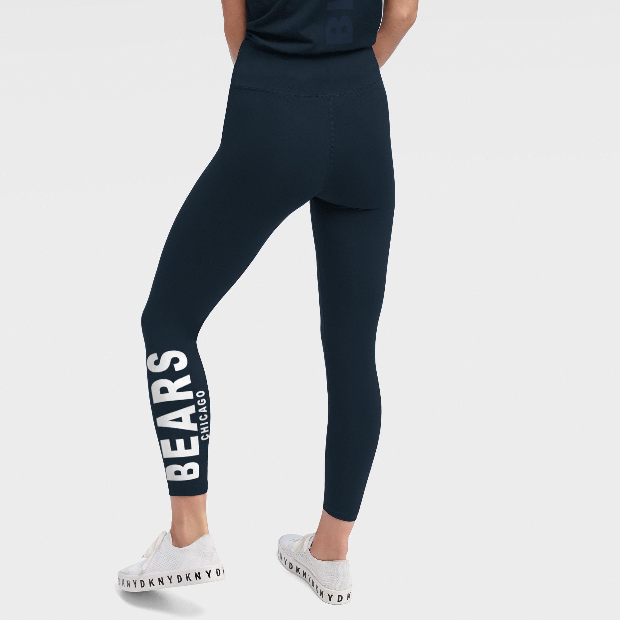 Chicago Bears DKNY Sport Women's Zen Leggings - Navy