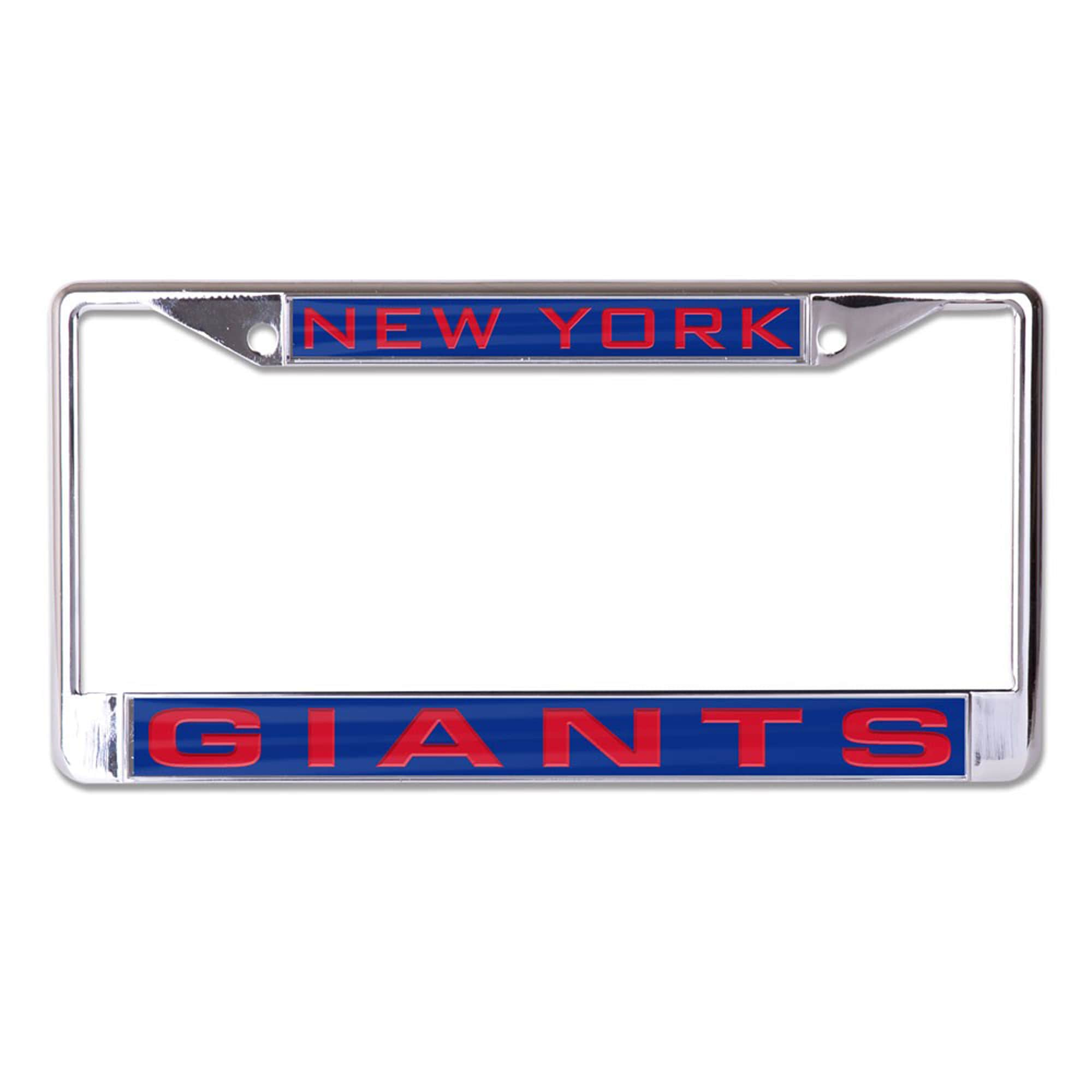 New York Giants WinCraft Inlaid Metal License Plate Frame