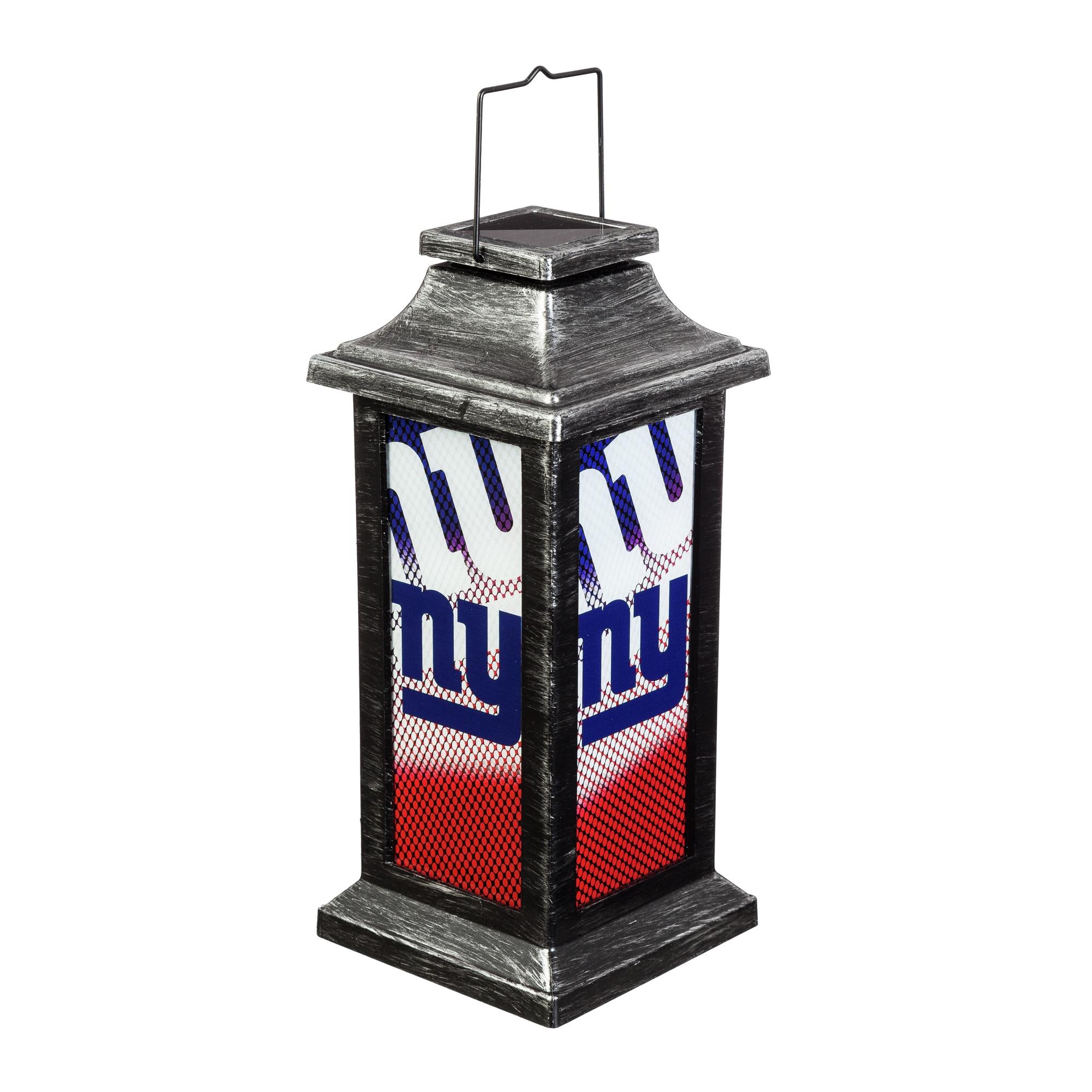 New York Giants Solar Garden Lantern