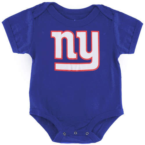 New York Giants Newborn & Infant Team Logo Bodysuit - Royal