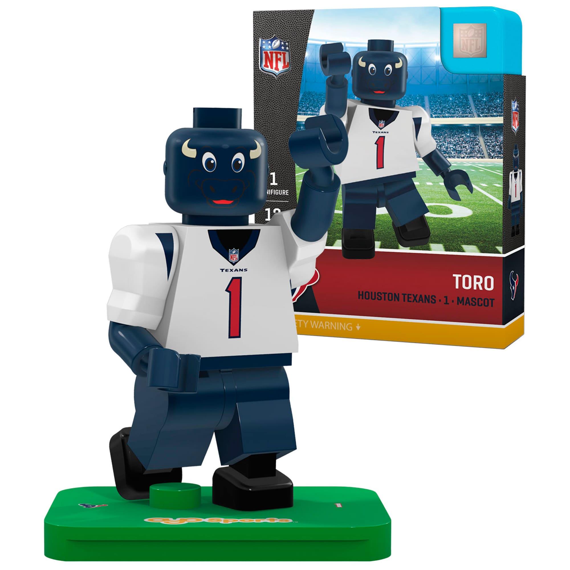 Toro Houston Texans OYO Sports Generation 5 Mascot Minifigure