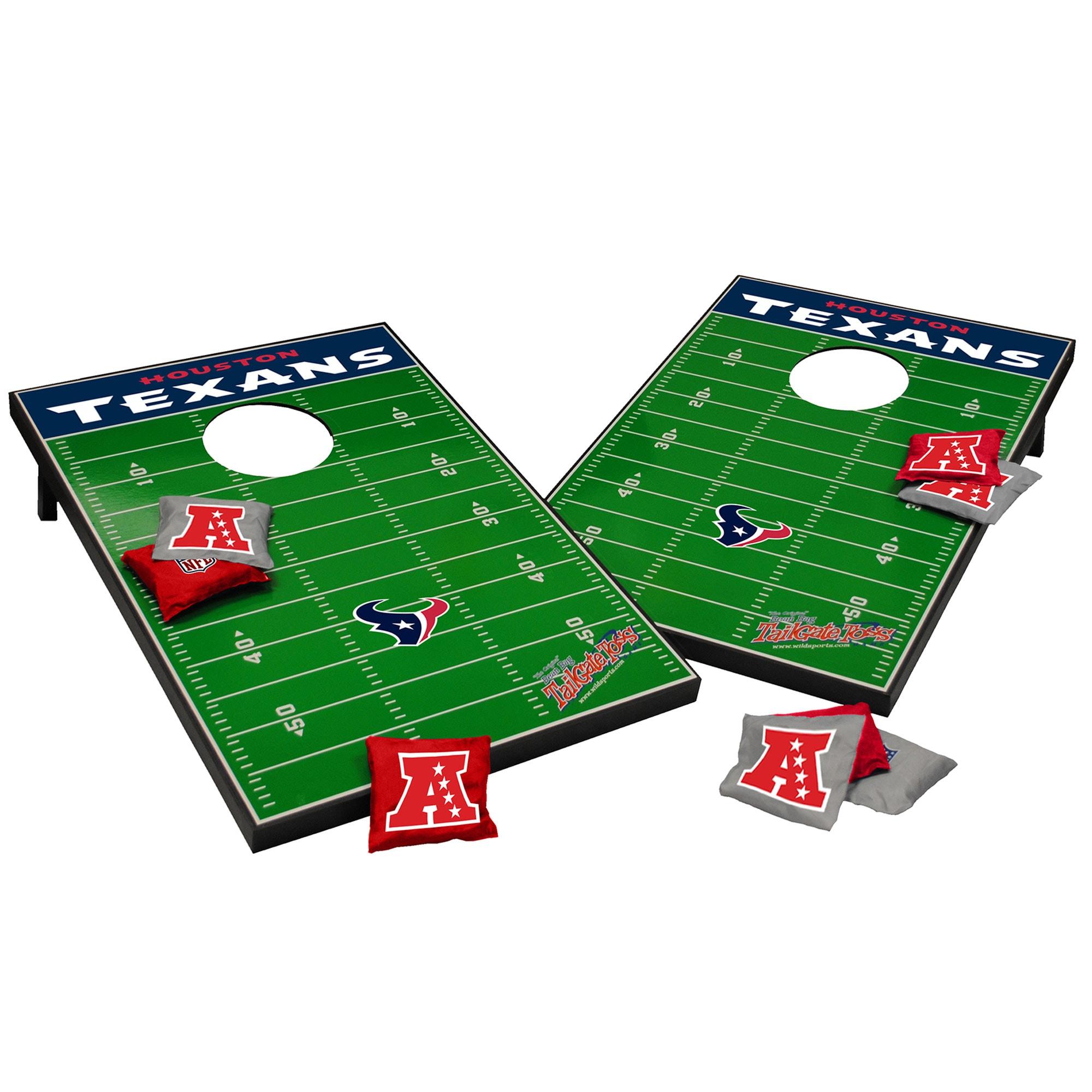 Houston Texans 2' x 3' Cornhole Board Tailgate Toss Set