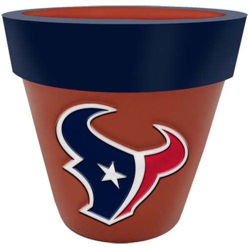 Houston Texans Team Planter Flower Pot