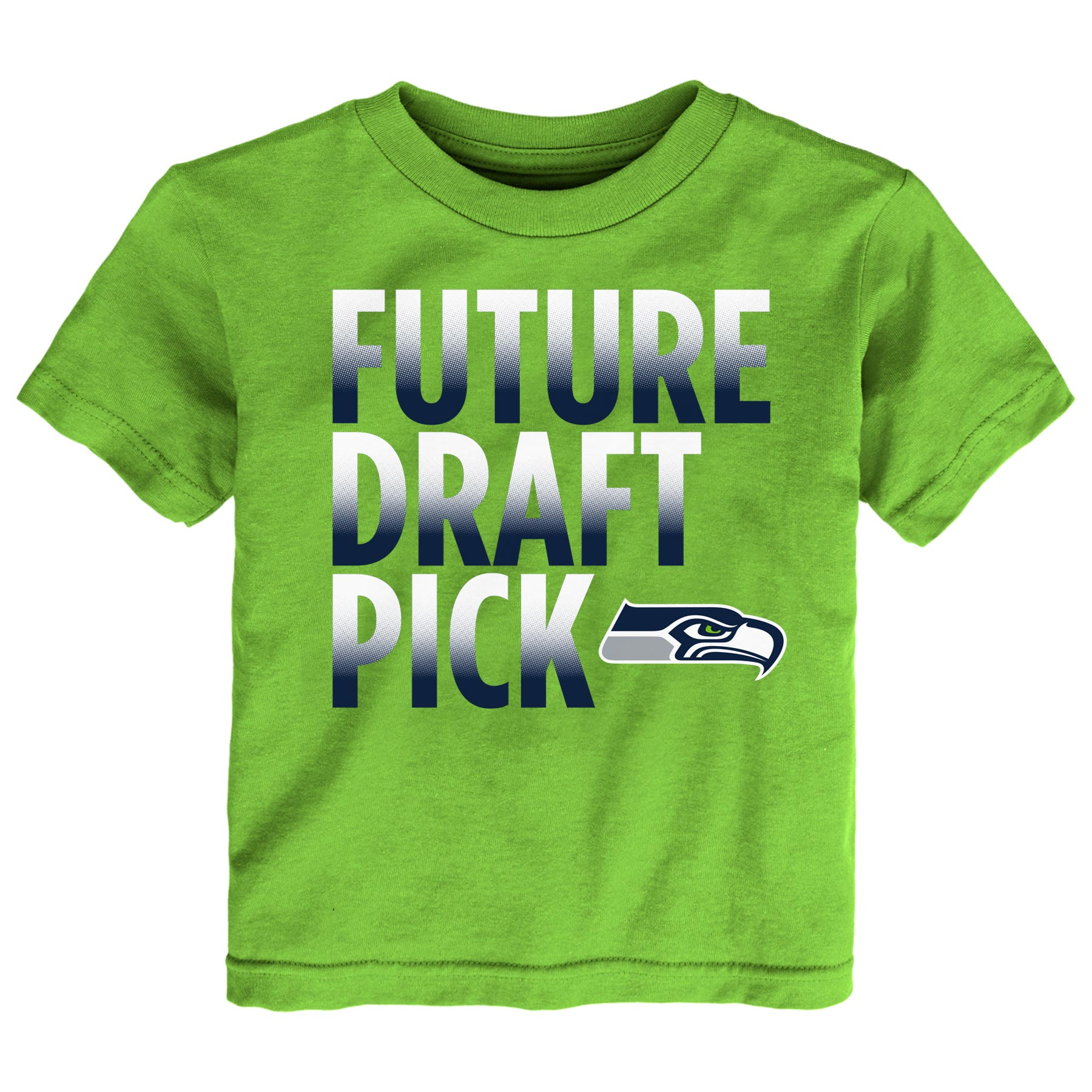 Seattle Seahawks Preschool Future Draft Pick T-Shirt - Neon Green