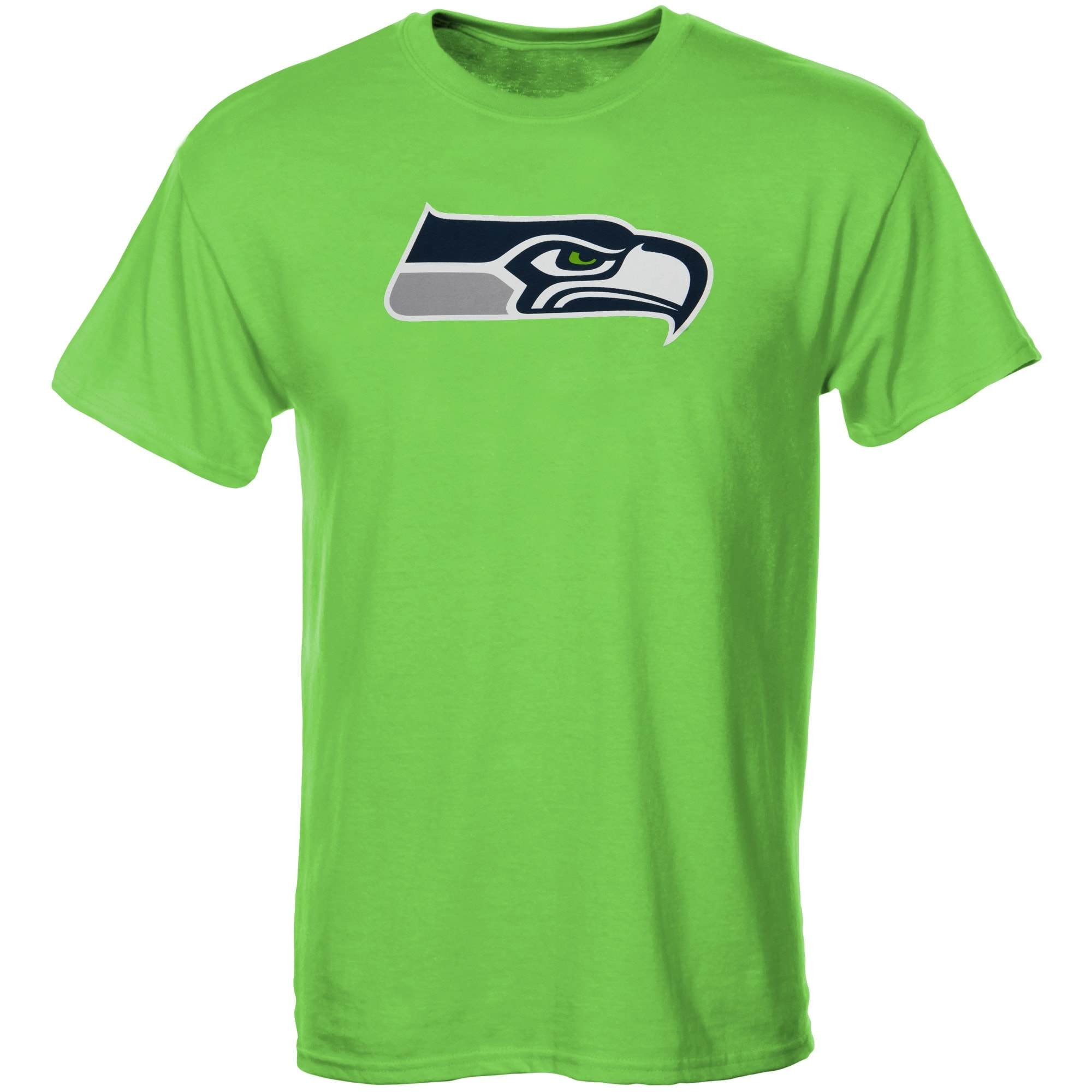 Seattle Seahawks Youth Primary Logo T-Shirt - Neon Green