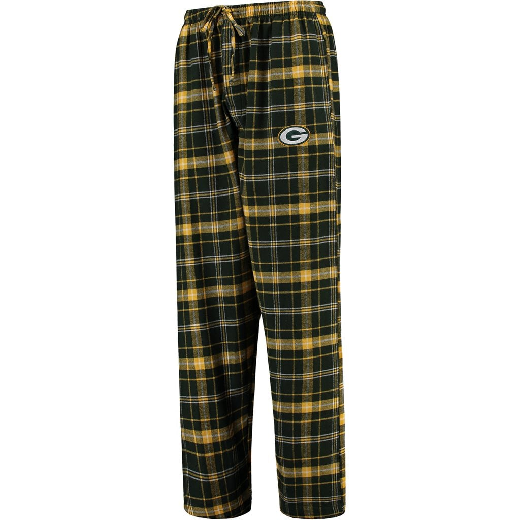 Green Bay Packers Concepts Sport Ultimate Plaid Flannel Pajama Pants - Green