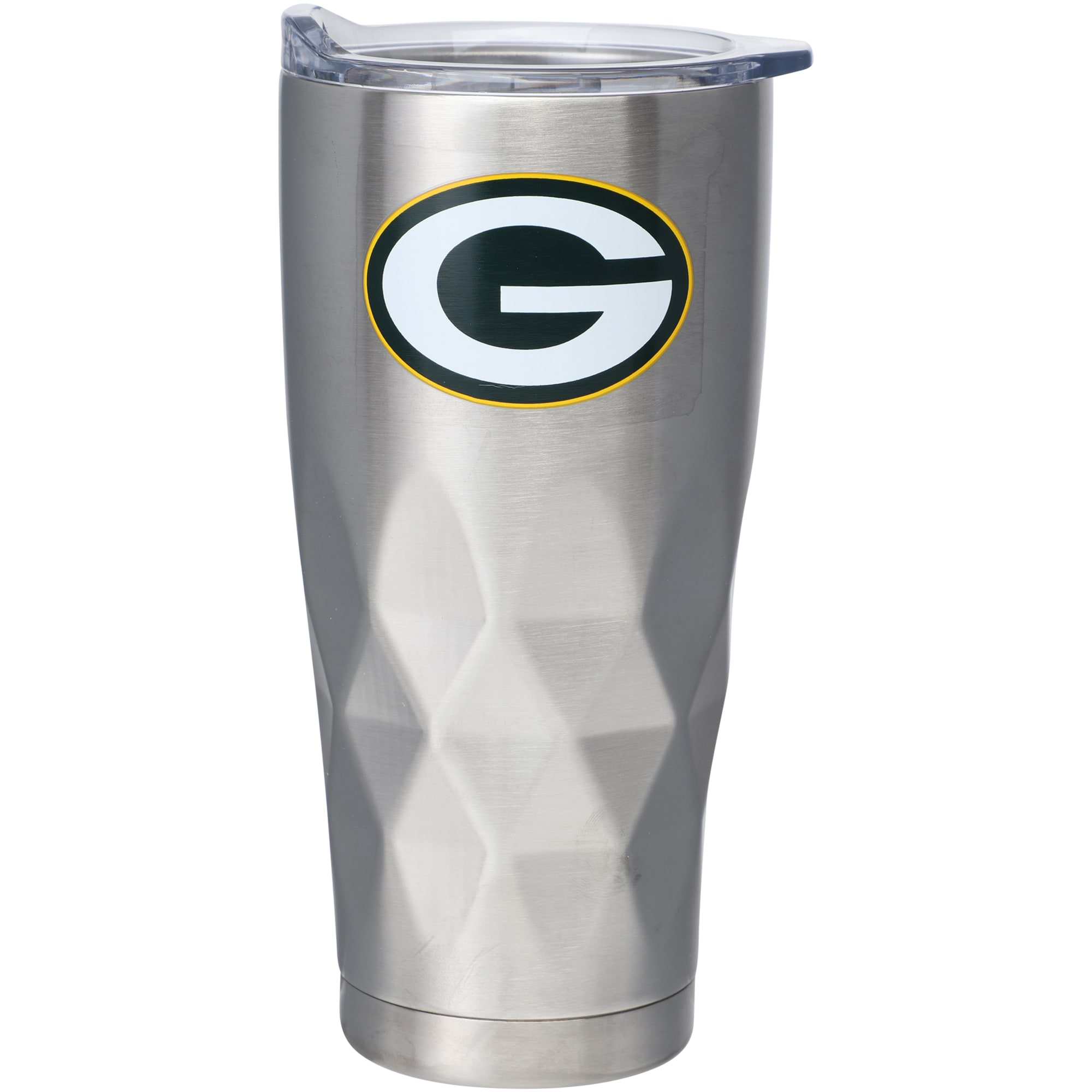 Green Bay Packers 22oz. Diamond Bottom Stainless Steel Tumbler