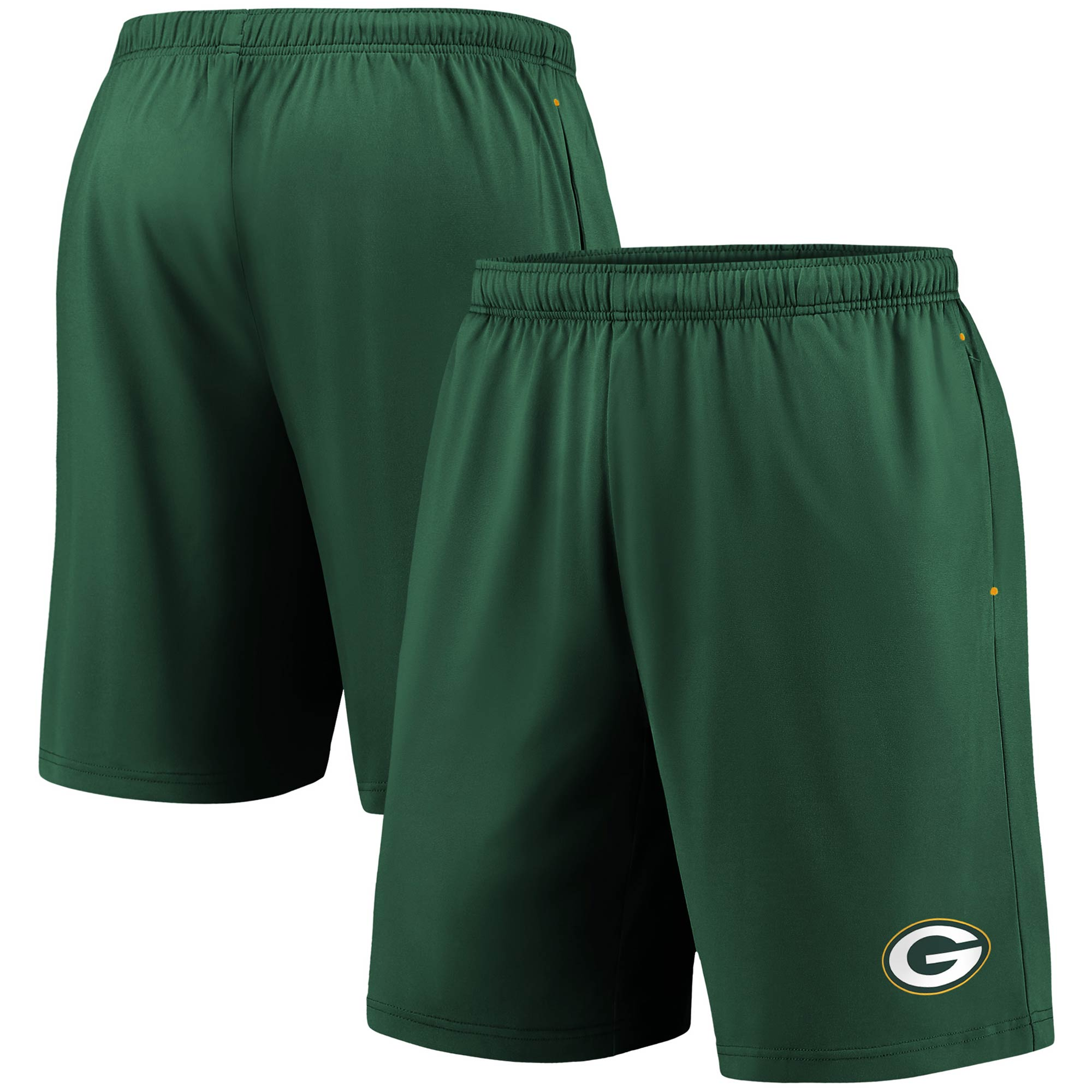 Green Bay Packers Fanatics Branded Primary Logo Shorts - Green