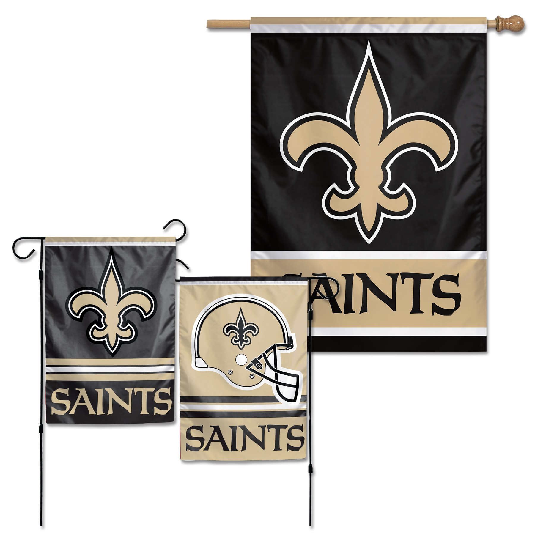 New Orleans Saints WinCraft House Flag and Garden Flag