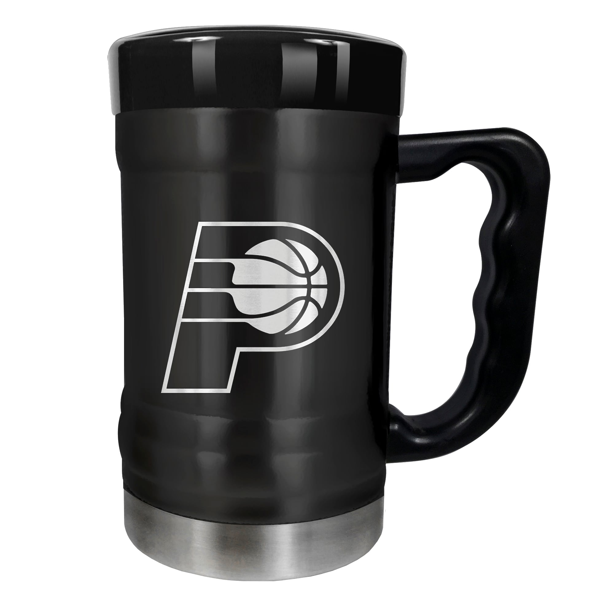 Indiana Pacers 15oz. Stealth Coach Coffee Mug - Black