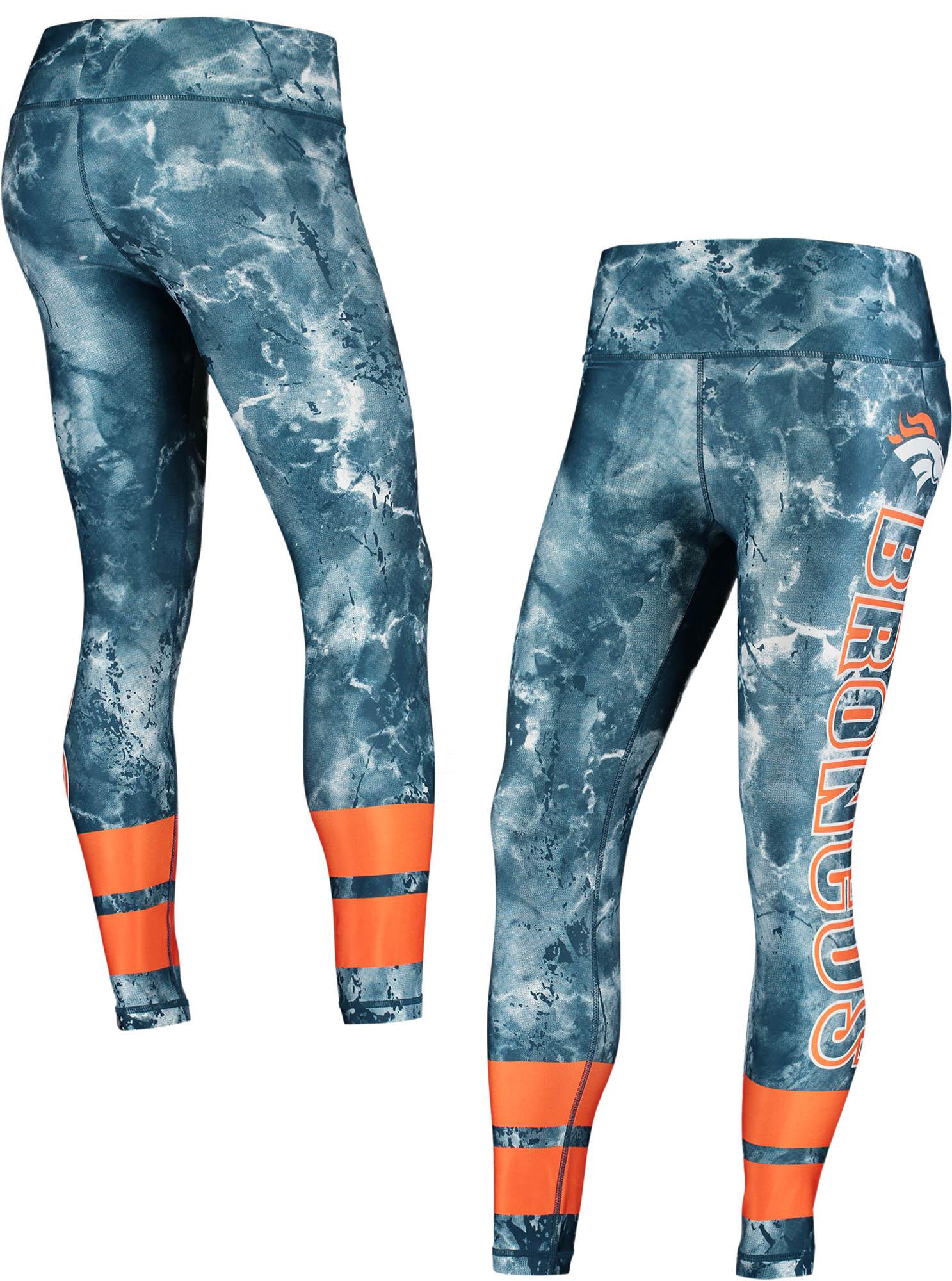 Denver Broncos Concepts Sport Women's Dormer Knit Leggings - Navy/Orange