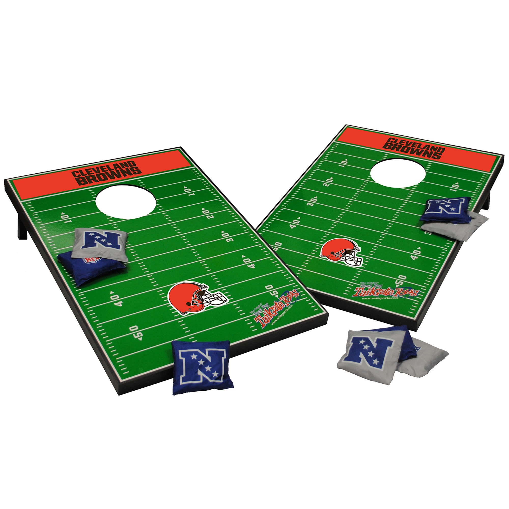 Cleveland Browns 2' x 3' Cornhole Board Tailgate Toss Set