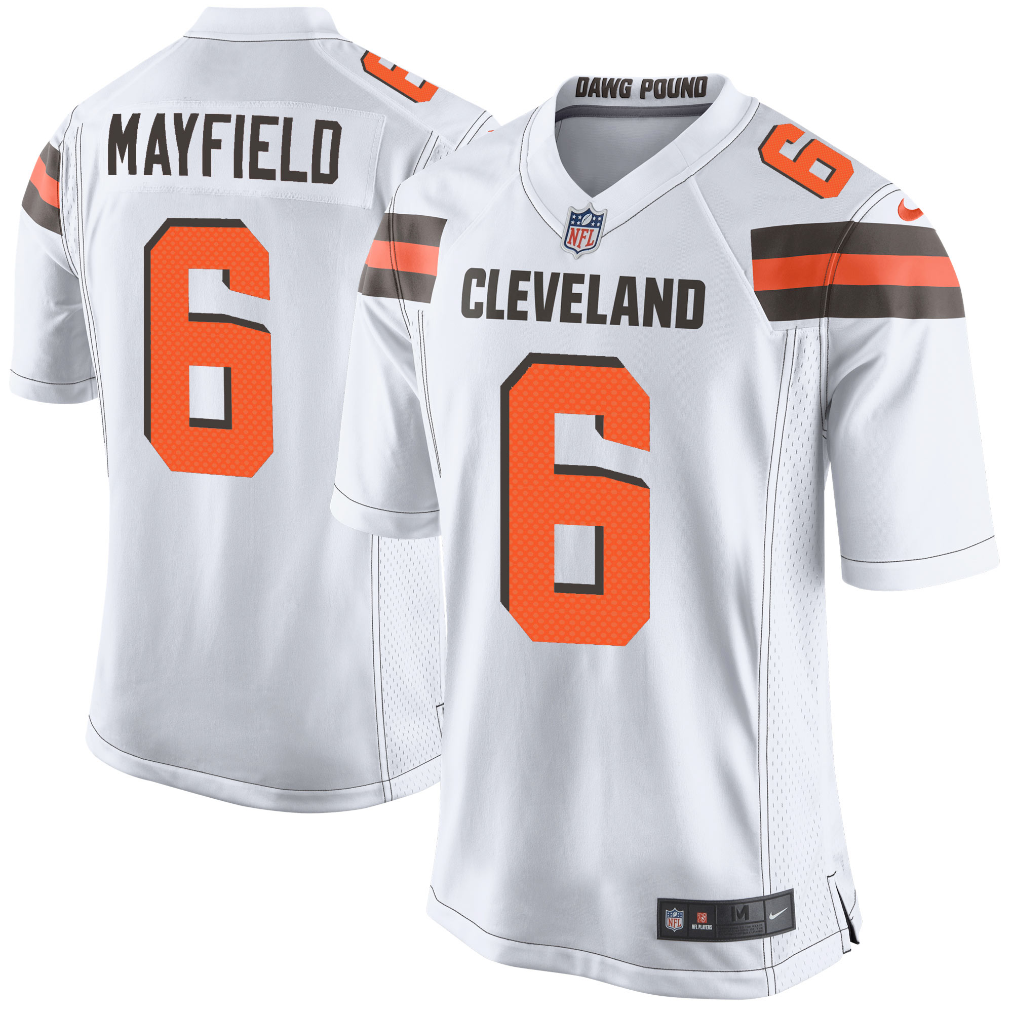 Baker Mayfield Cleveland Browns Nike Youth Player Game Jersey - White