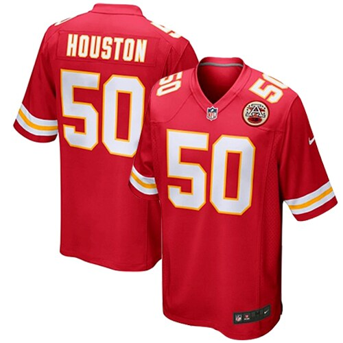Justin Houston Kansas City Chiefs Nike Youth Team Color Game Jersey - Red