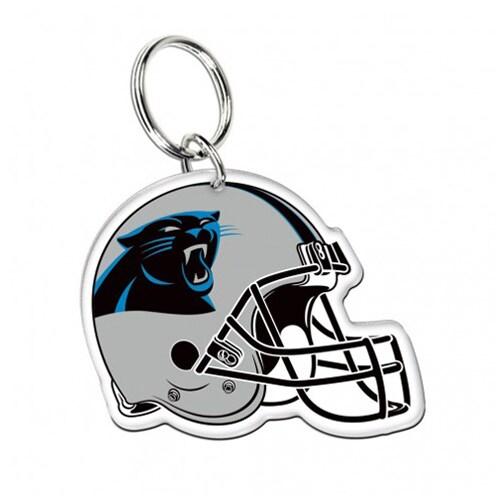 Carolina Panthers WinCraft High-Definition Helmet Logo Keychain